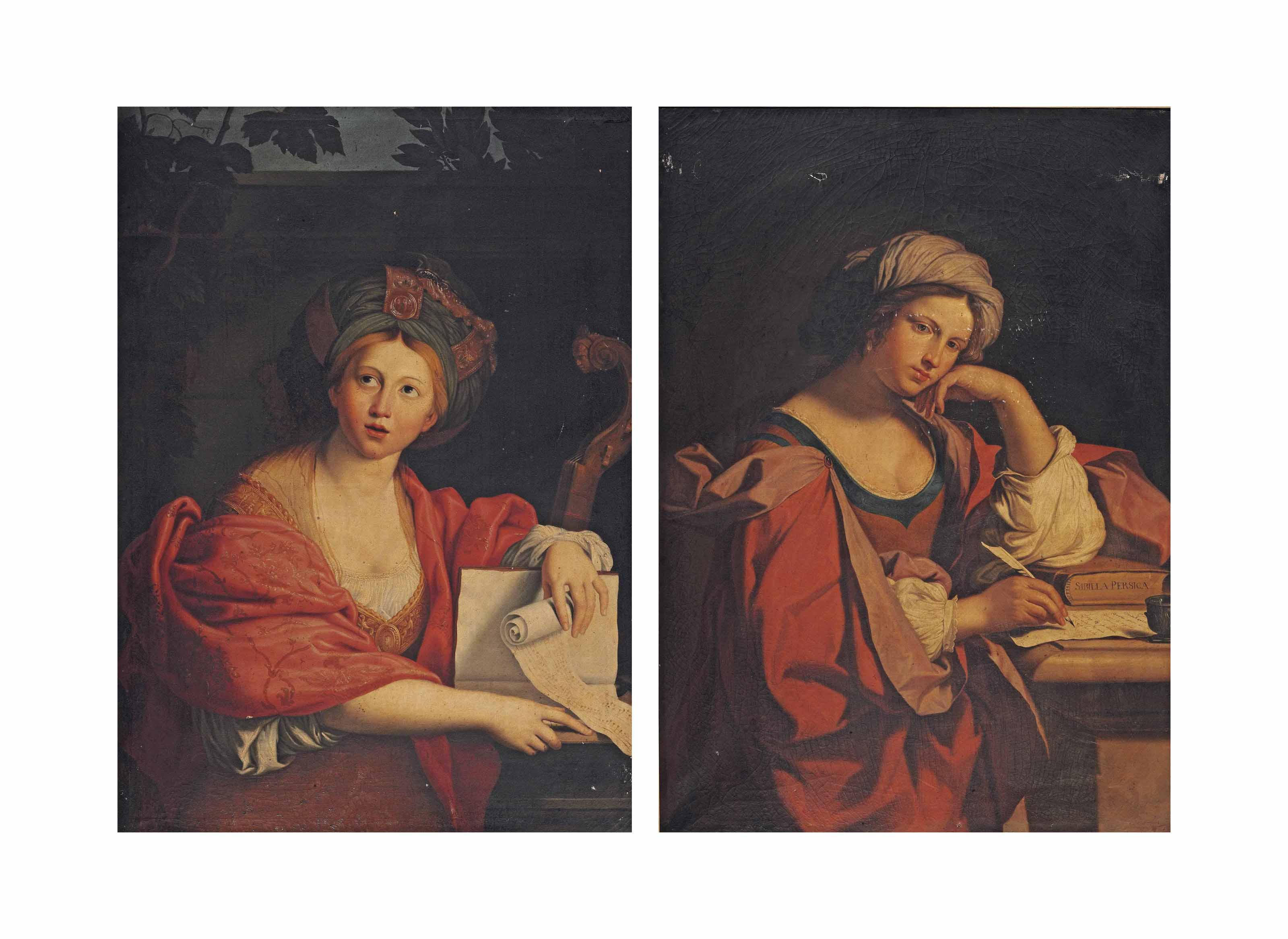 The Cumaean Sibyl; and The Persian Sibyl