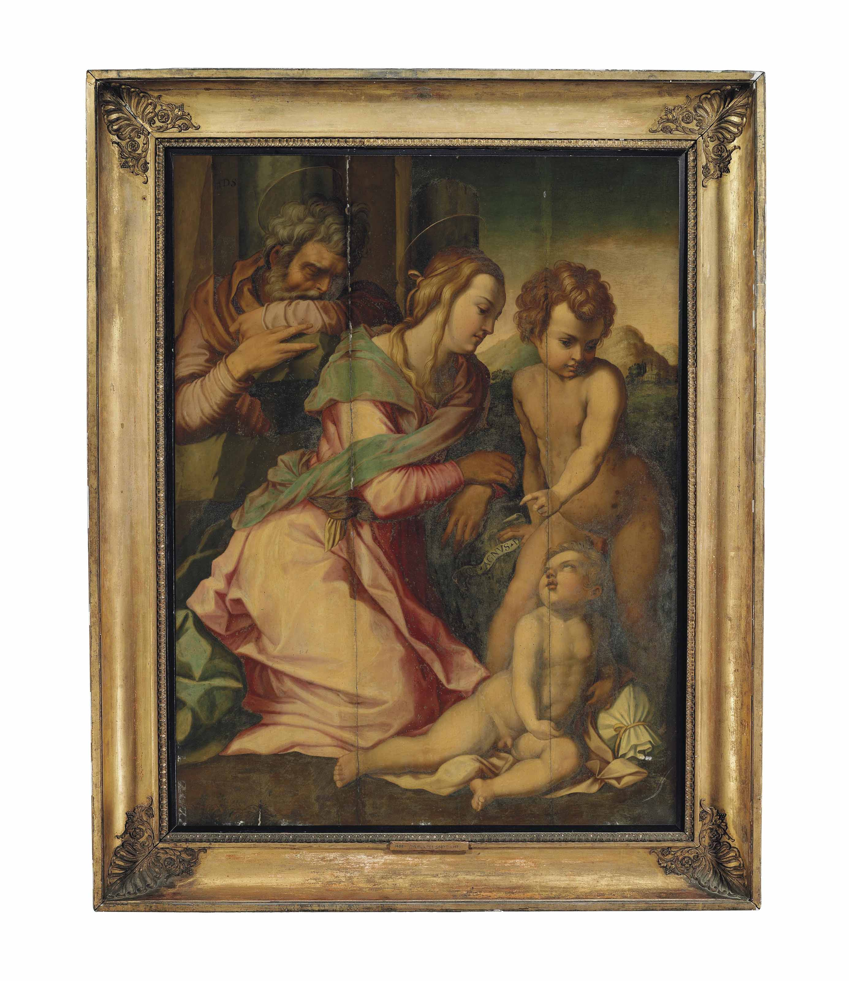 The Holy Family with the Infant Saint John the Baptist