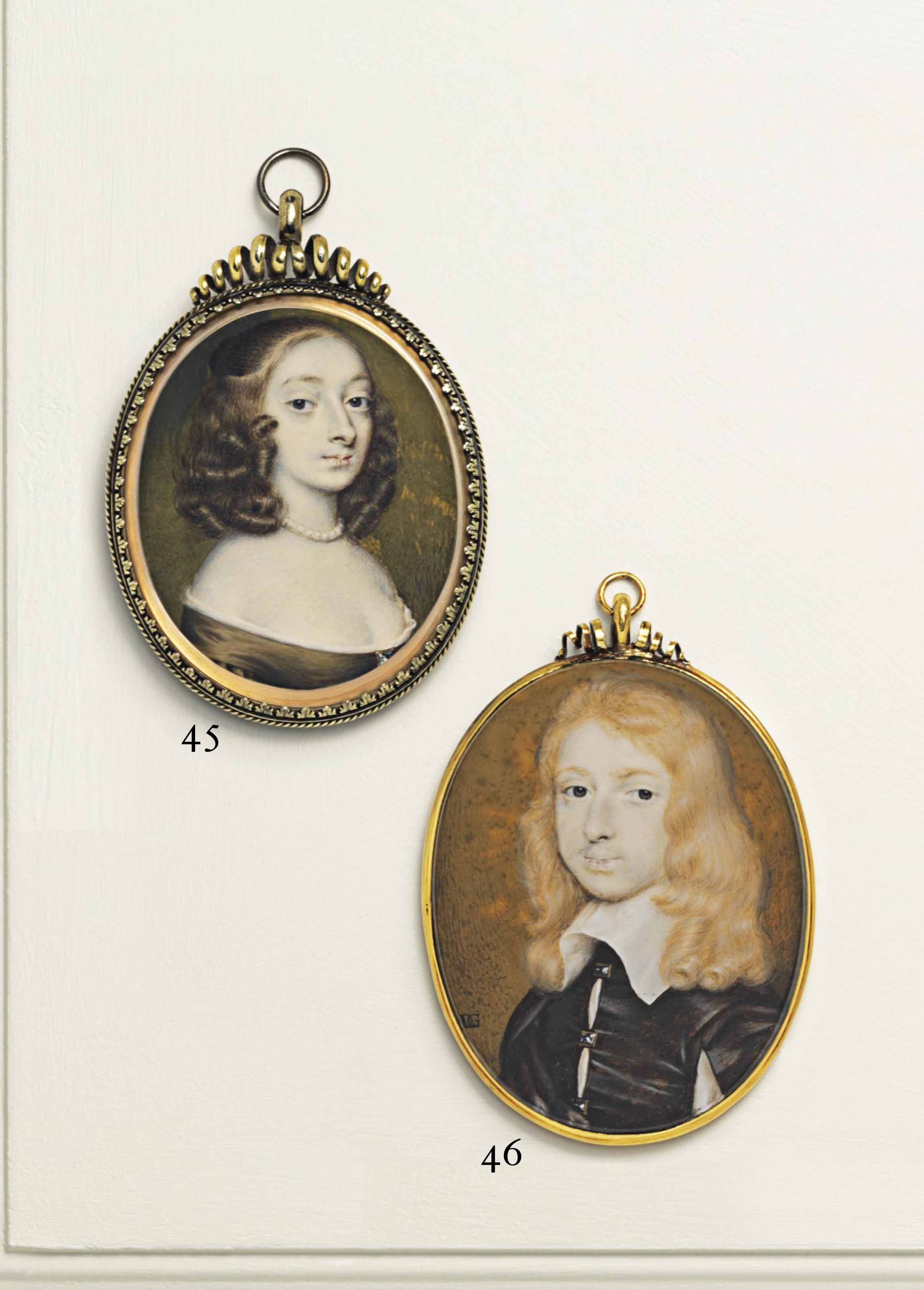 RICHARD GIBSON (BRITISH, 1615-1690)