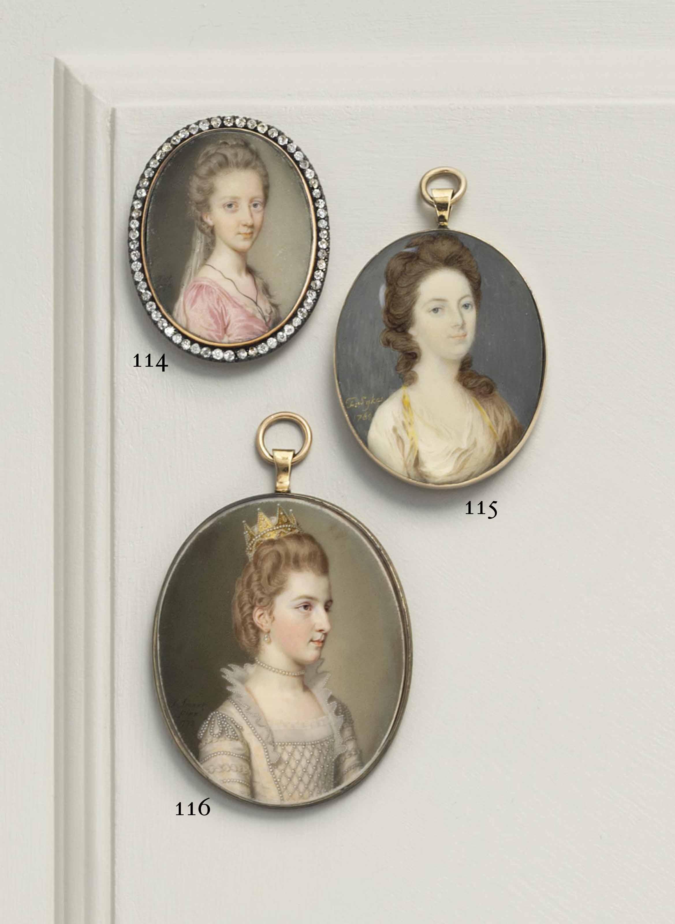 FRANCIS SYKES (BRITISH, FL. C. 1746 - 1763)