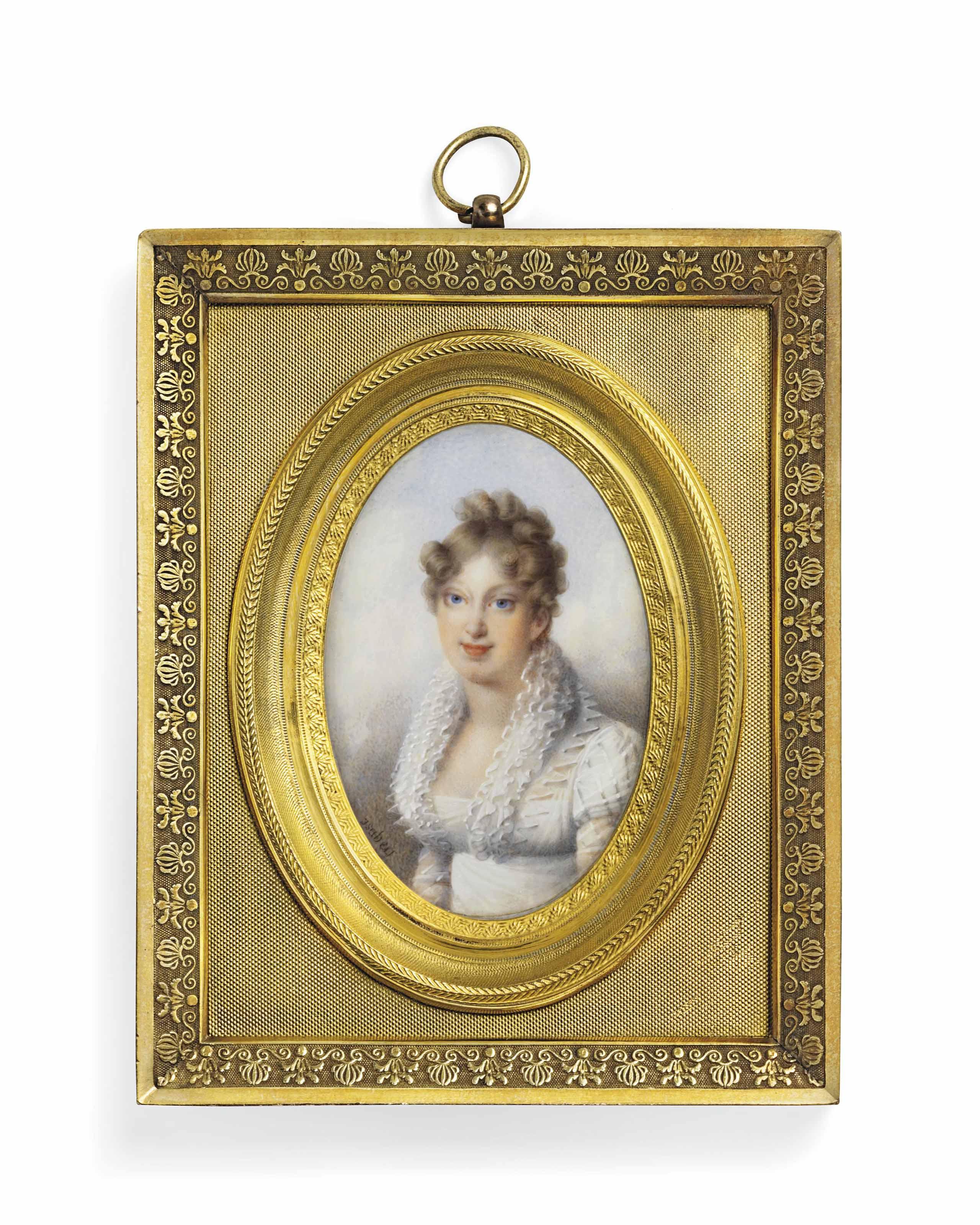 JEAN-PIERRE MENUISIER (FRENCH, B. 1783)