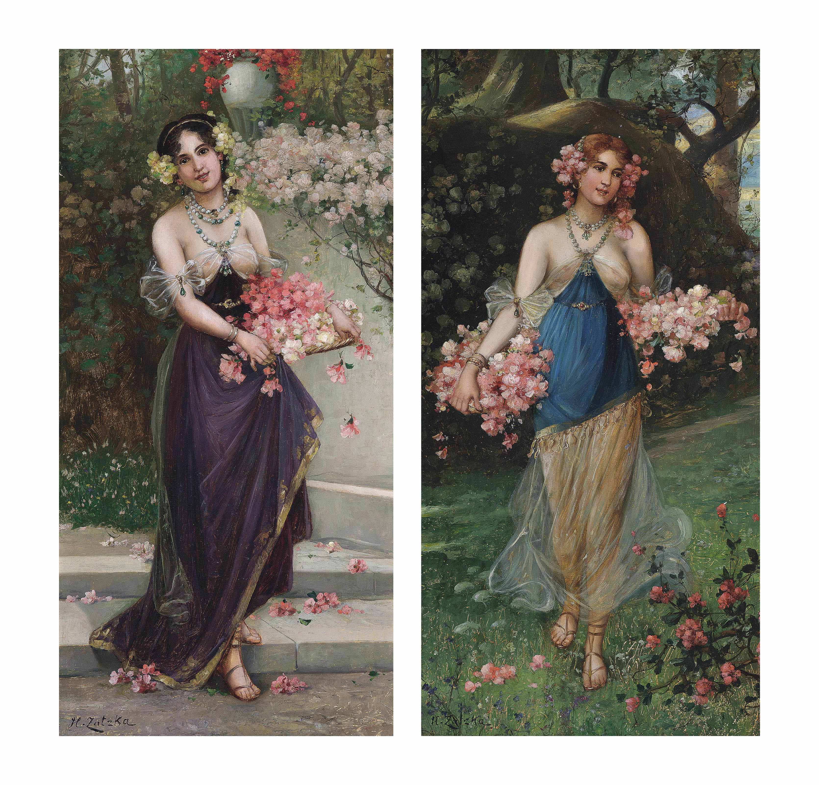 The maidens of Spring