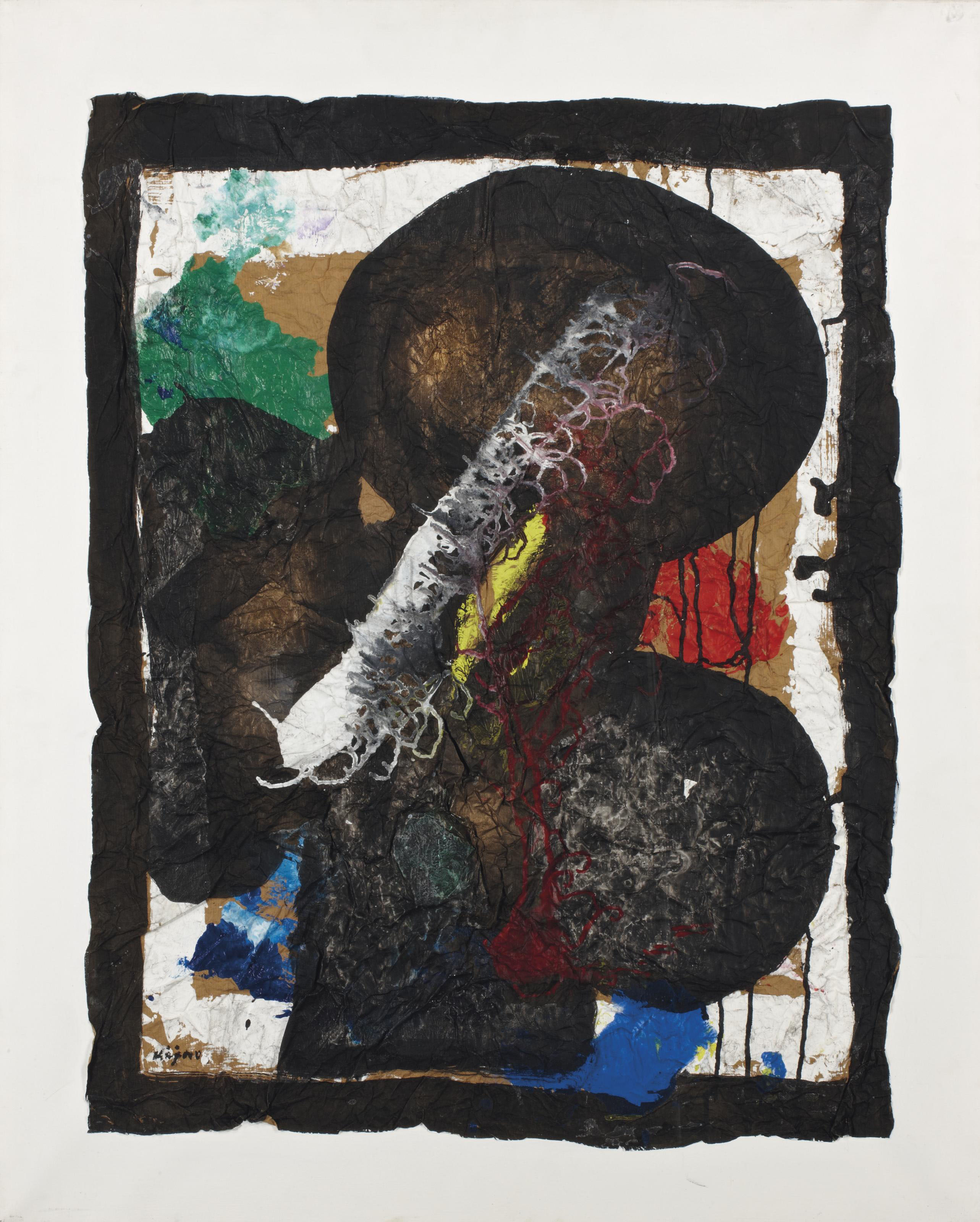 Composition abstraite (L'oiseau de feu)