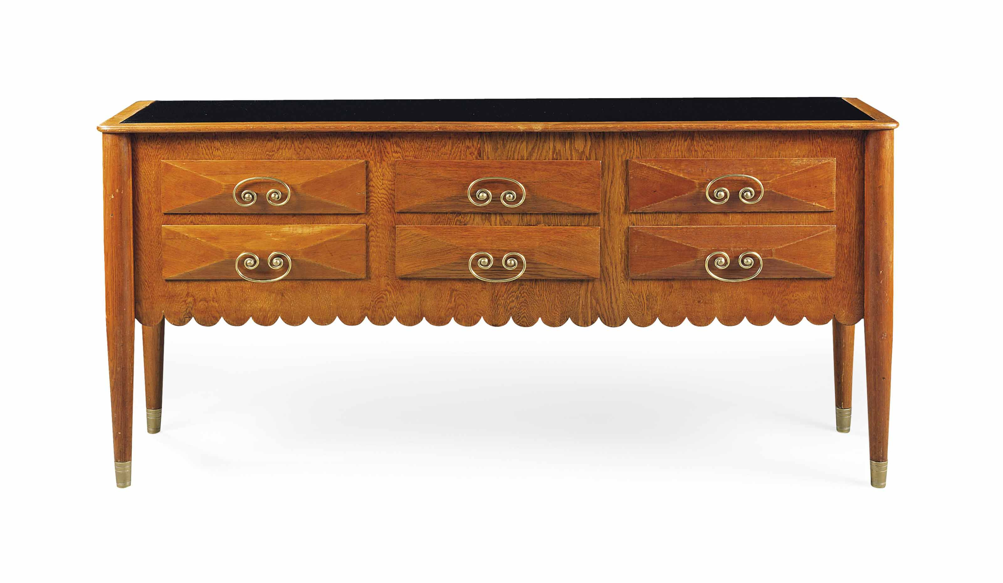 A PAOLO BUFFA (1903-1970) OAK SIDEBOARD