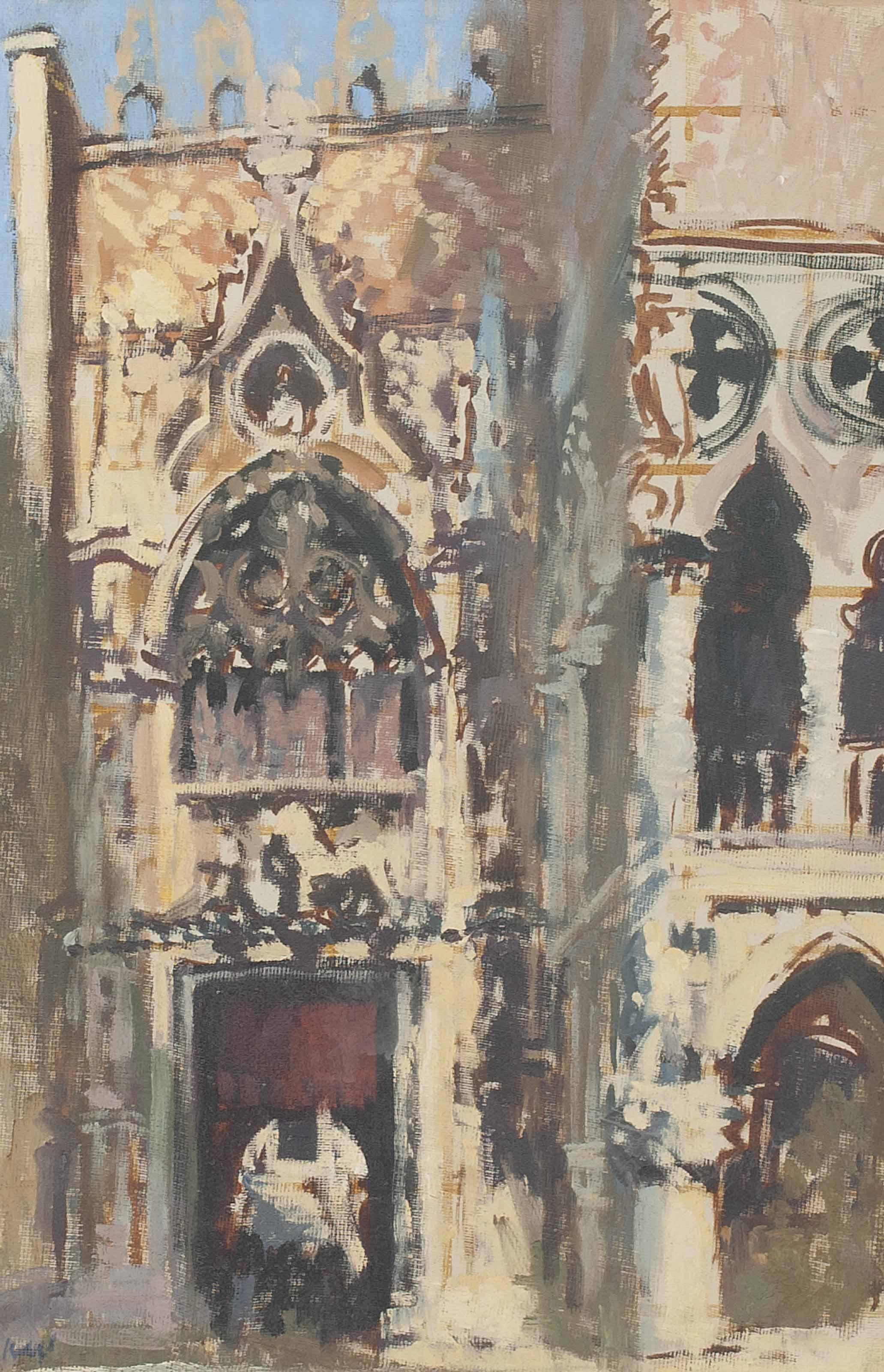 Porta della Carta, Doge's Palace