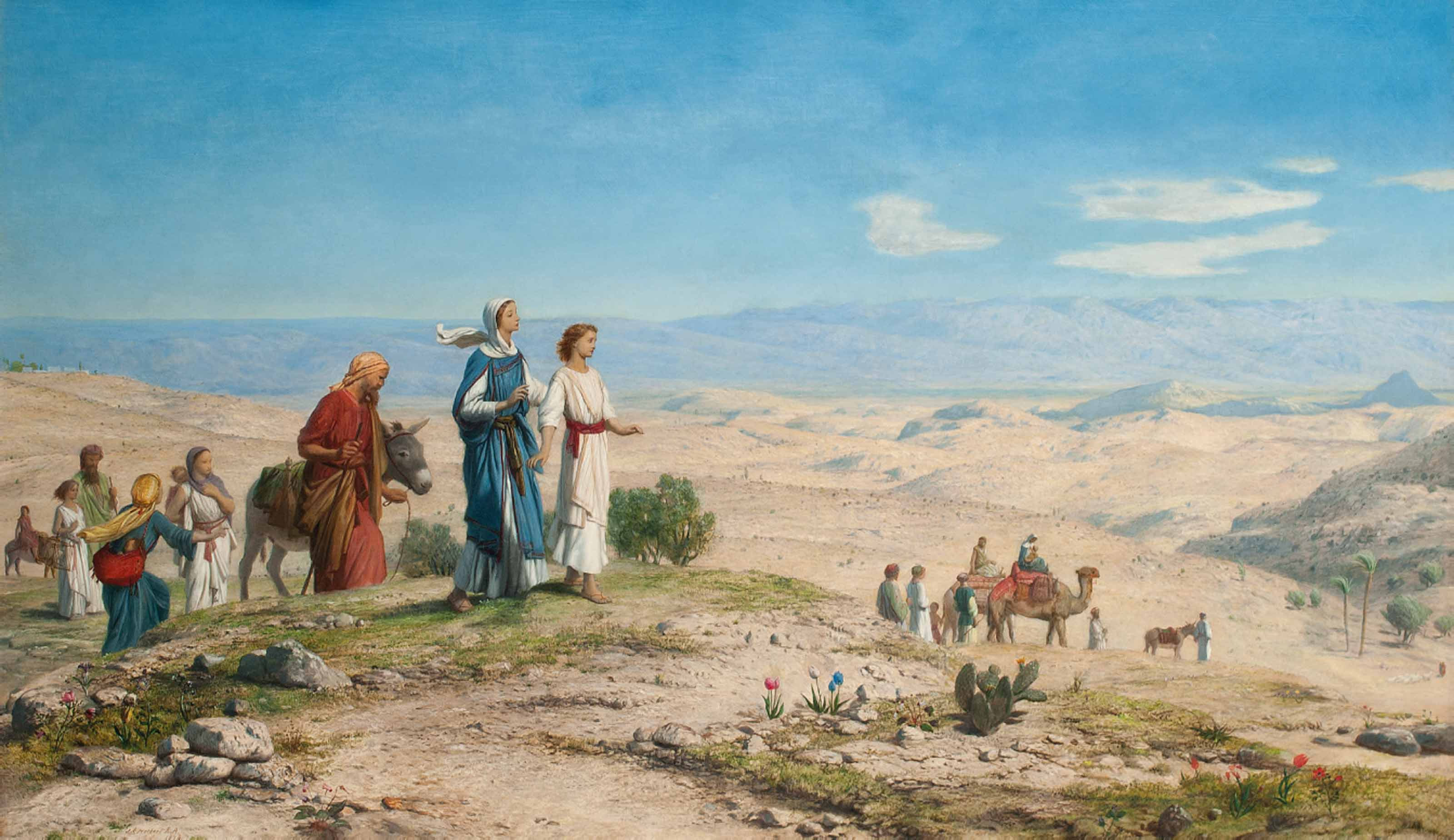 Outside Jerusalem