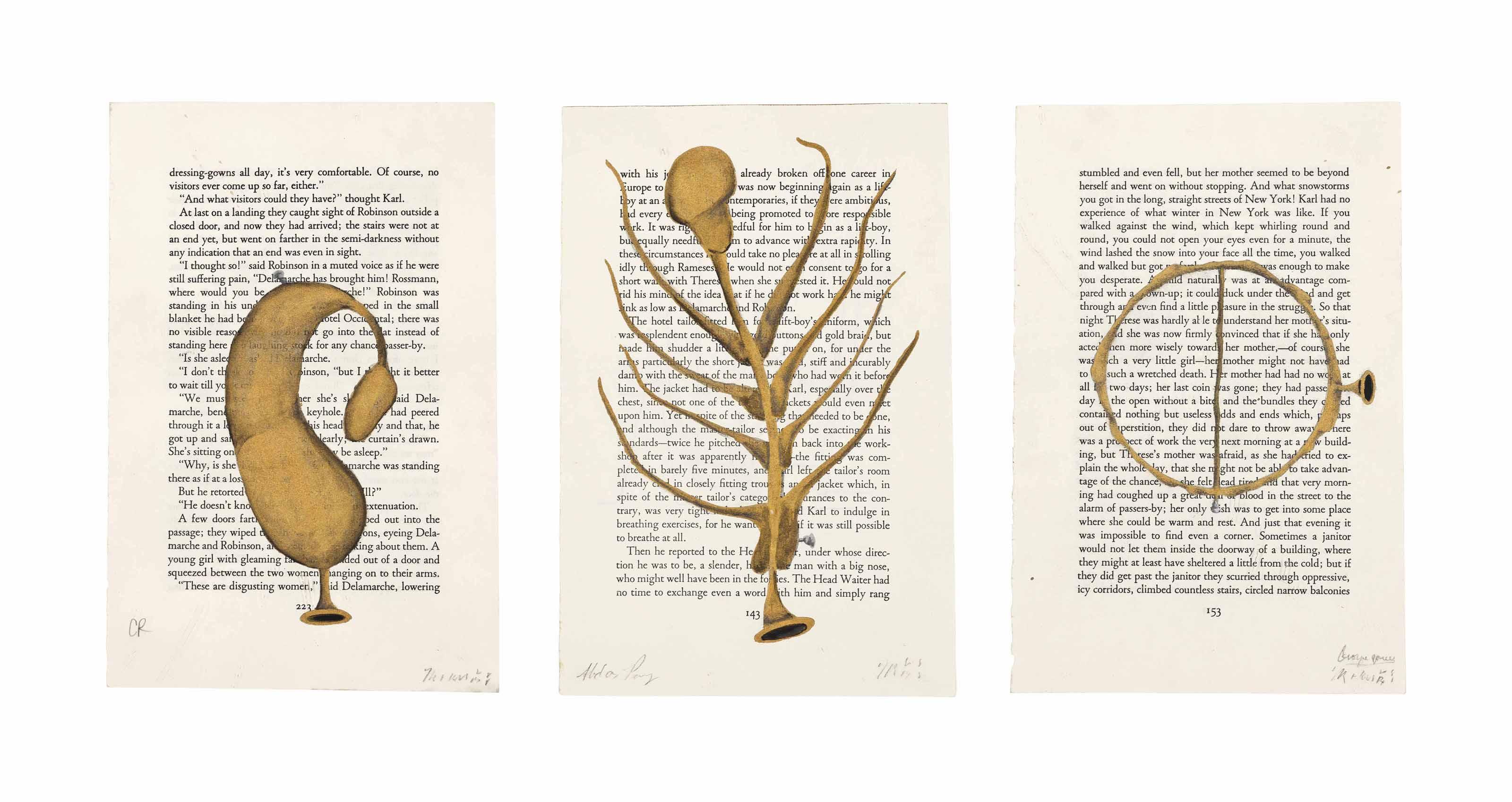 Golden Horn for Amerika series by Franz Kafka