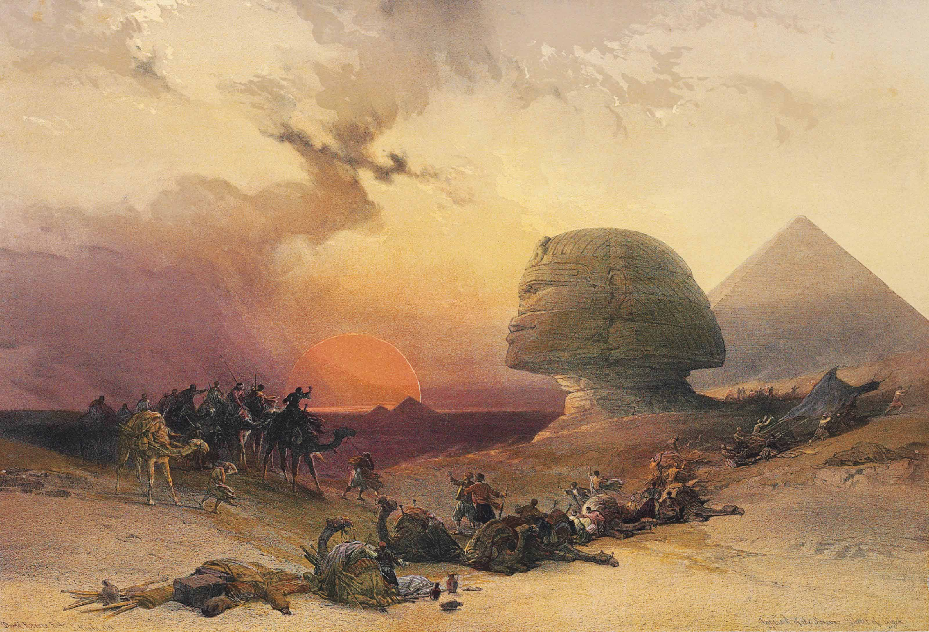 DAVID ROBERTS (1796-1864)