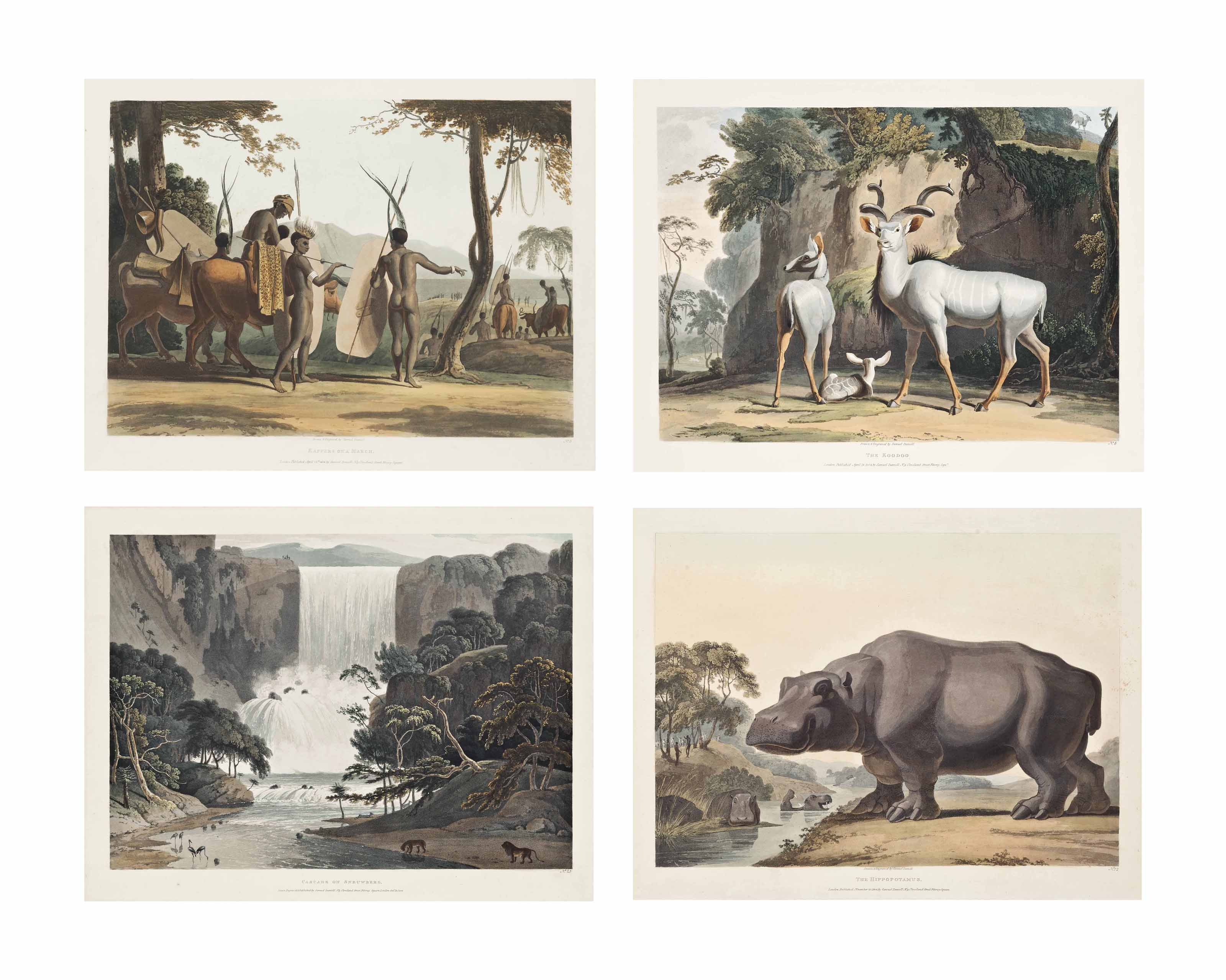 African Scenery and Animals (Abbey Travel 321, nos. 1-18, 20-32)