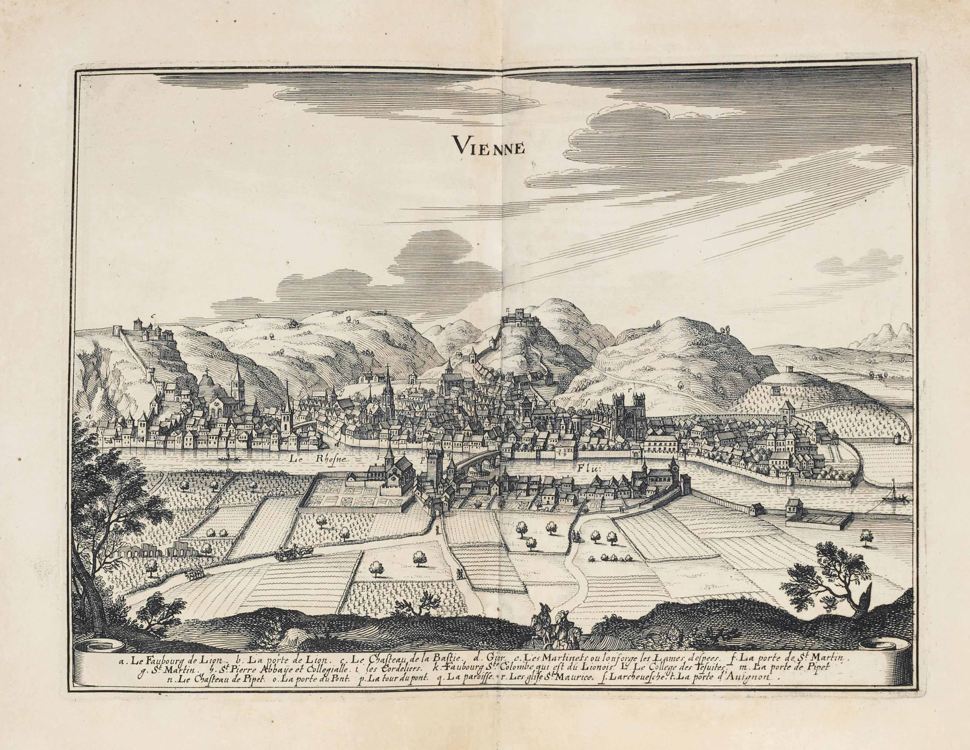 MATTHEUS MERIAN (1593-1650) and MARTIN ZEILER (1589-1661)