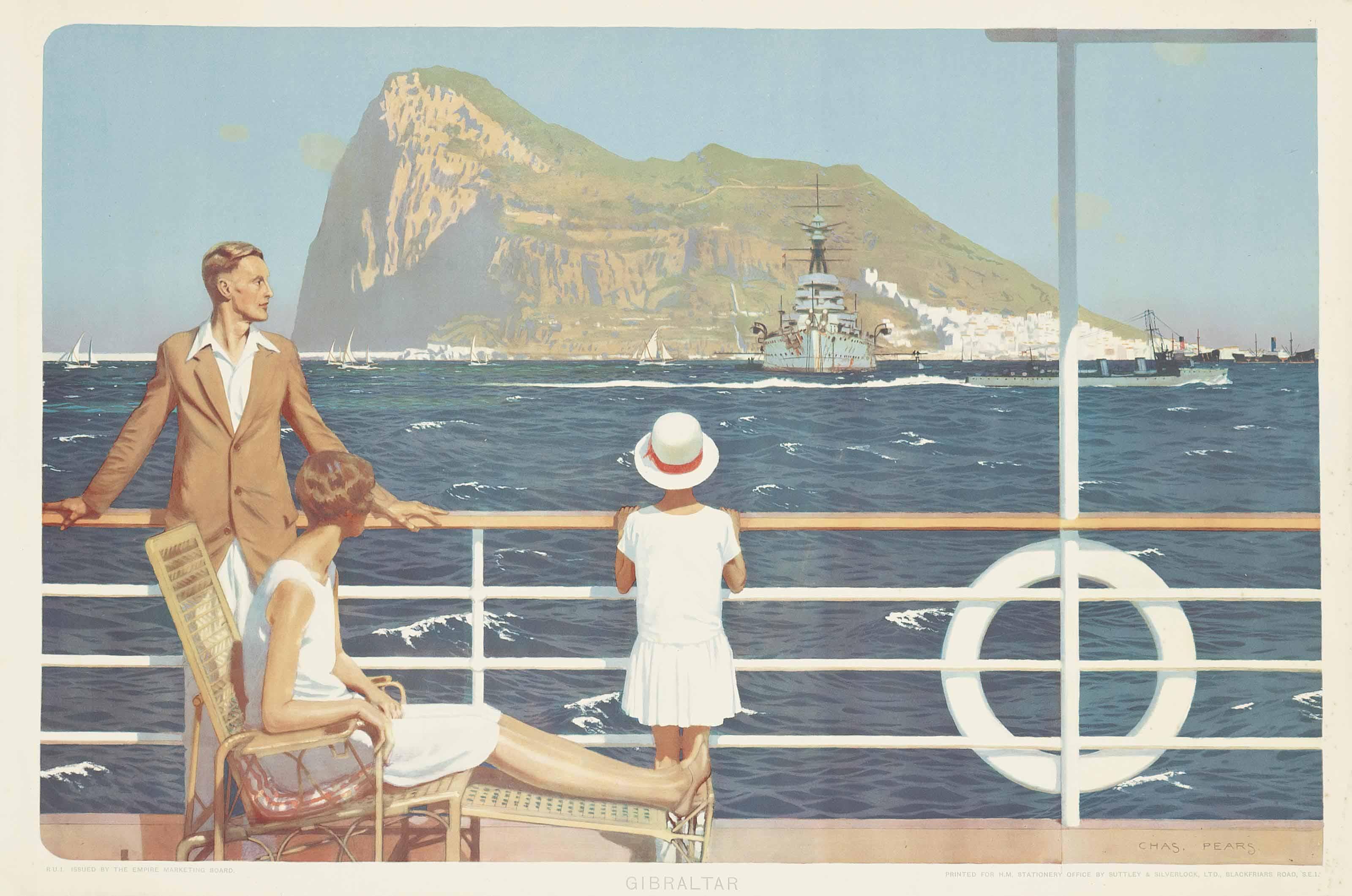 Gibraltar, The Empire Marketing Board