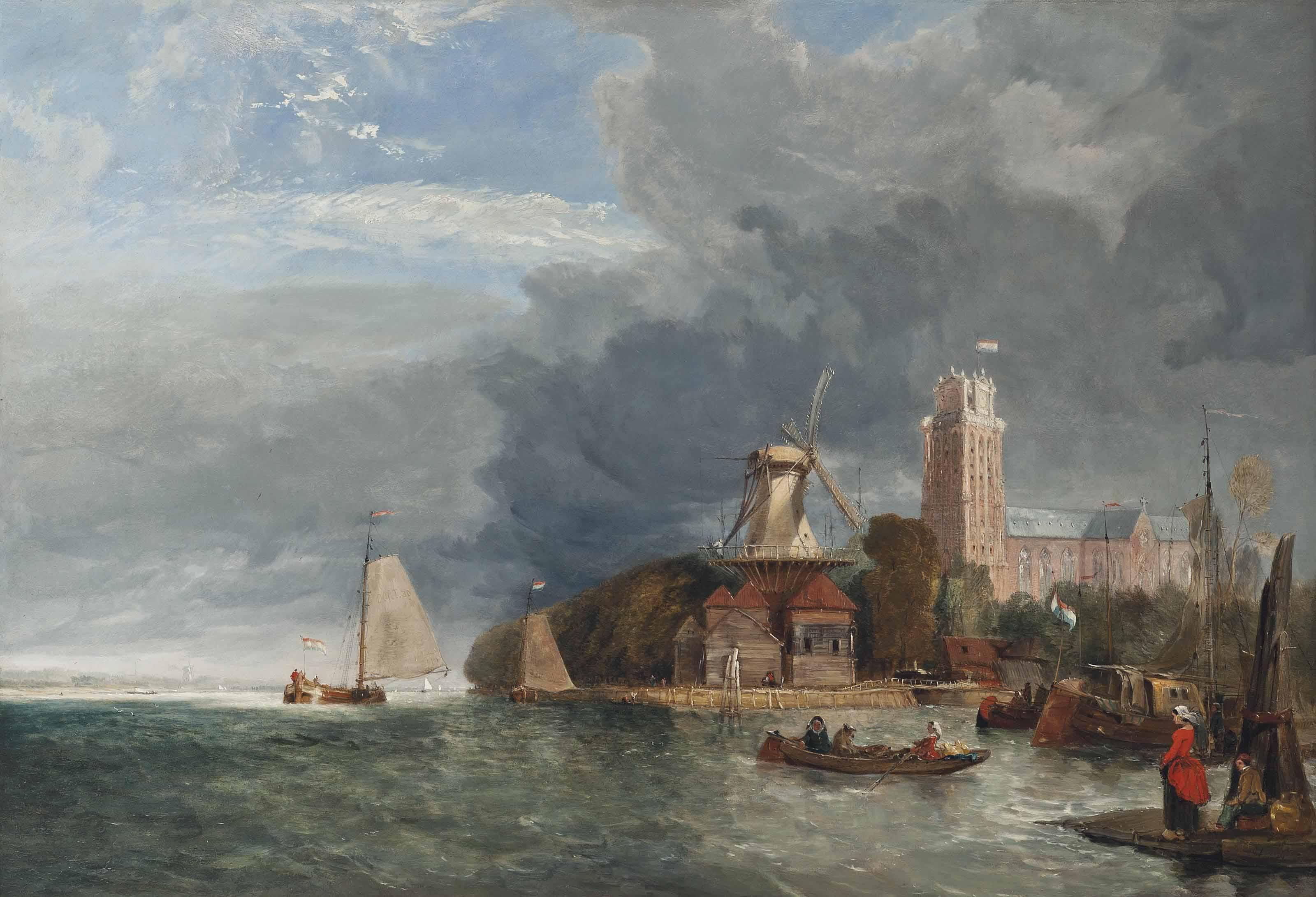 October morning, Rotterdam