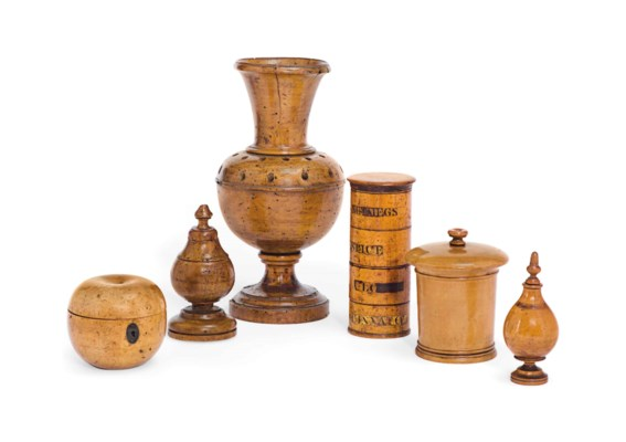 A COLLECTION OF TREEN