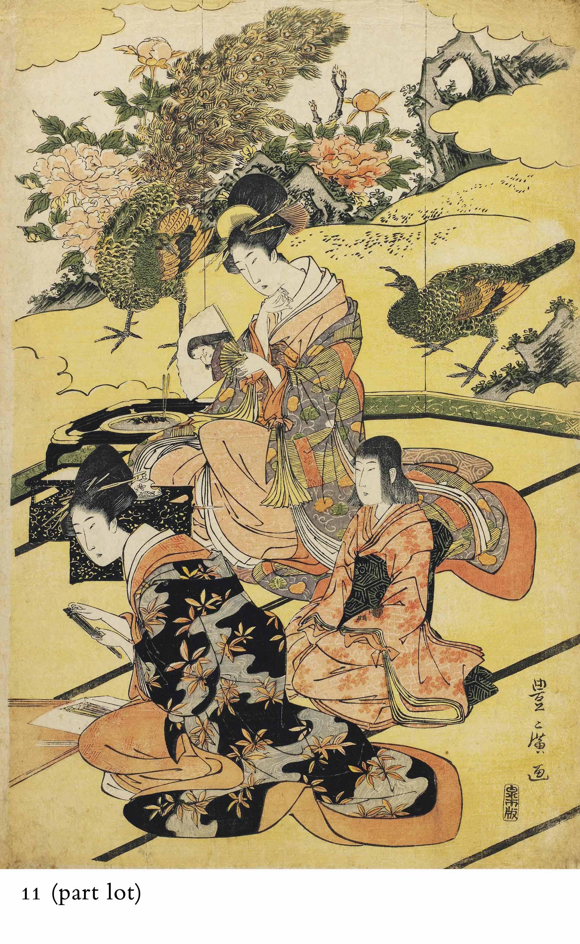 UTAGAWA TOYOHIRO (1773-1828), TORII KIYOMINE (1786-1868) AND OTHERS