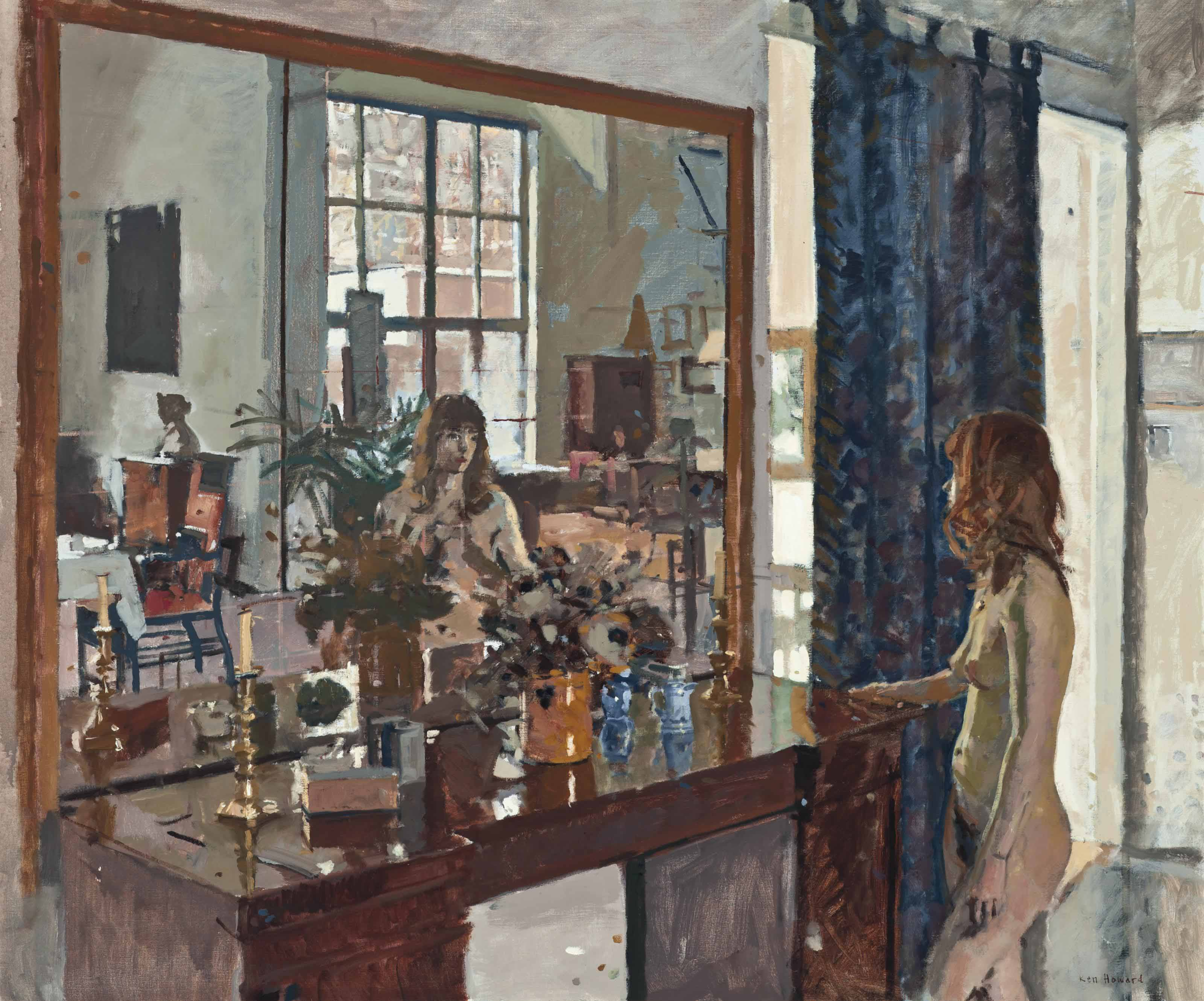 Louise Reflecting