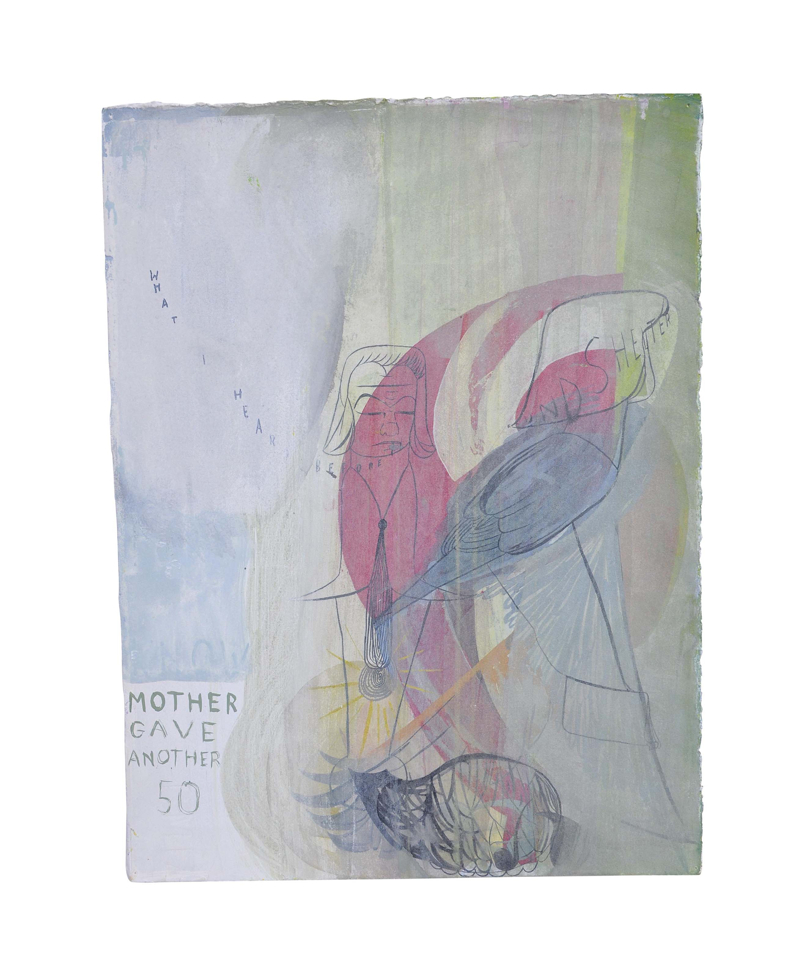 Untitled (Mother gave another 50)