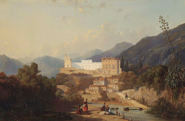 Eugène Latteux (French, 1805-1