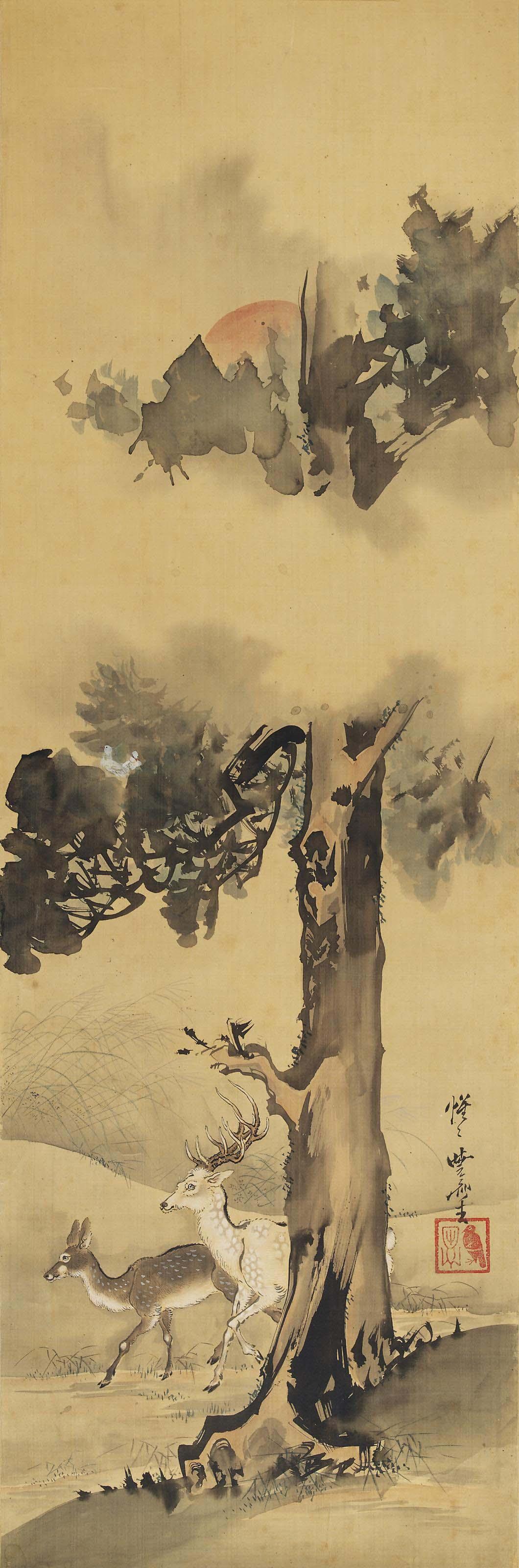 Kawanabe Kyosai (1831-1889)
