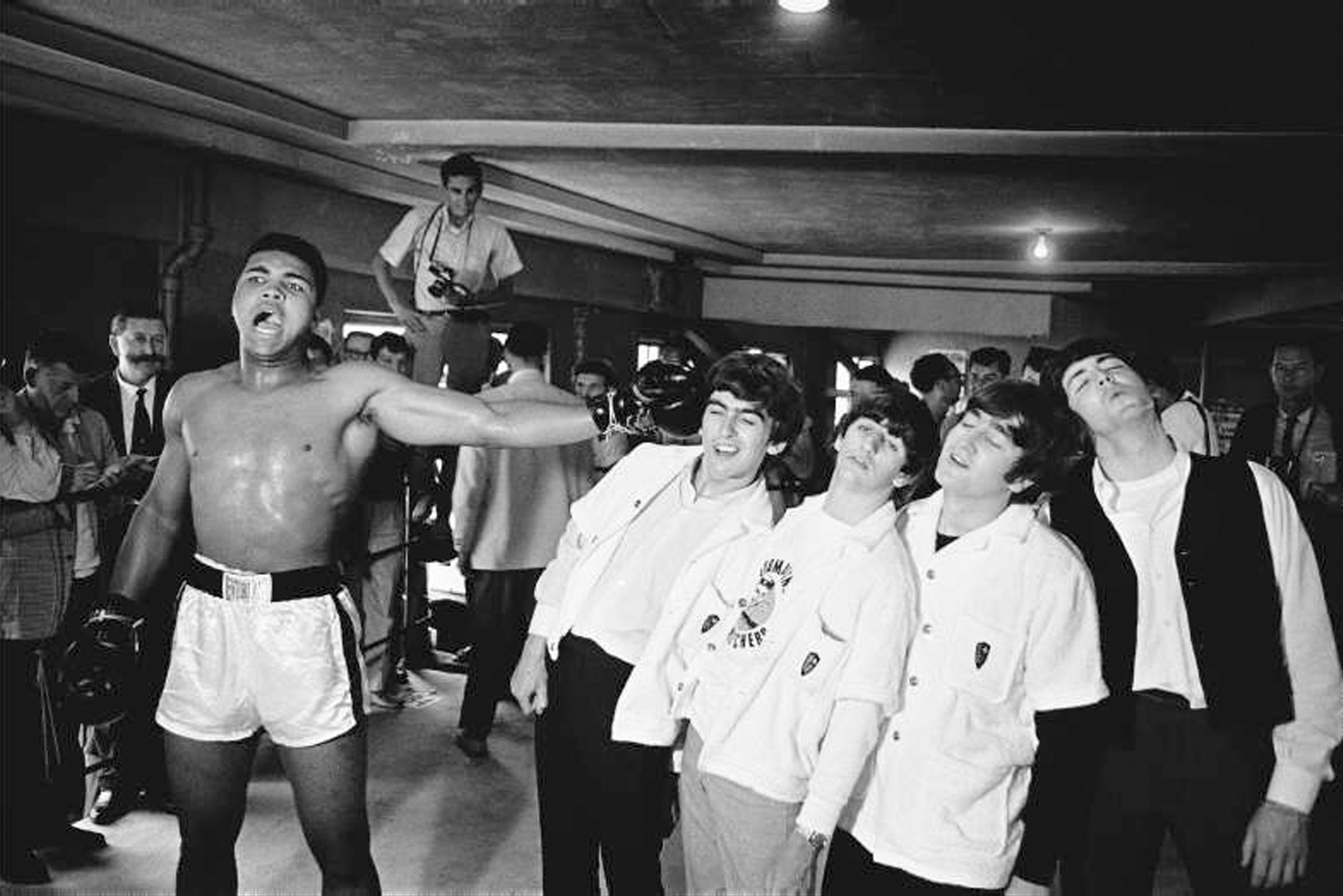 Ali Versus the Beatles, 1964