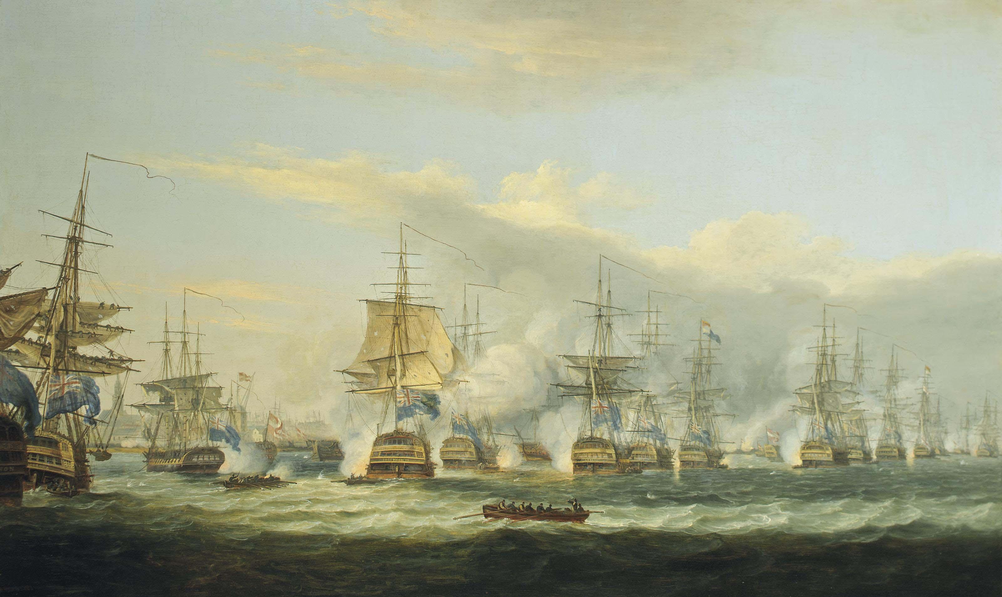 The battle of Copenhagen, 2nd April 1801