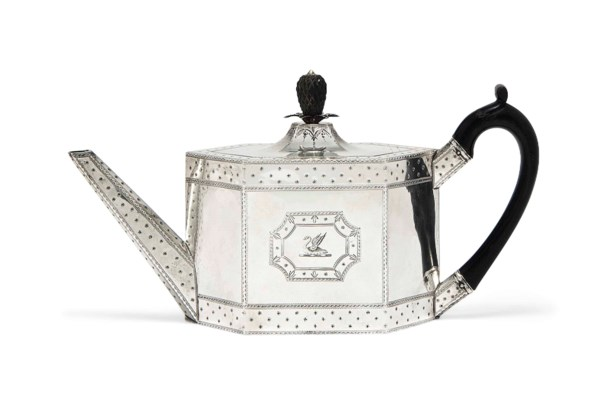 A GEORGE III SILVER BRIGHT-ENG