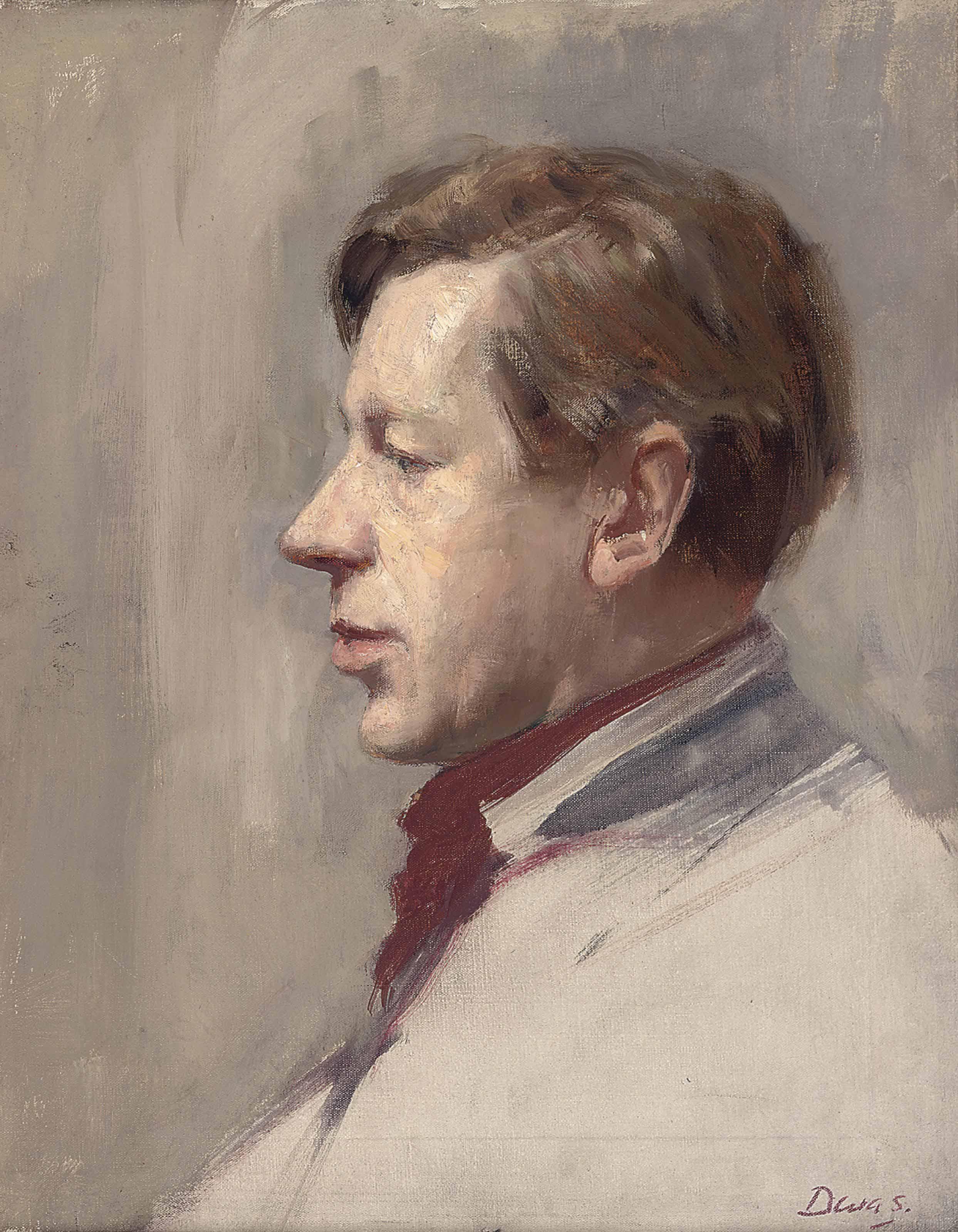 Portrait of Laurie Lee