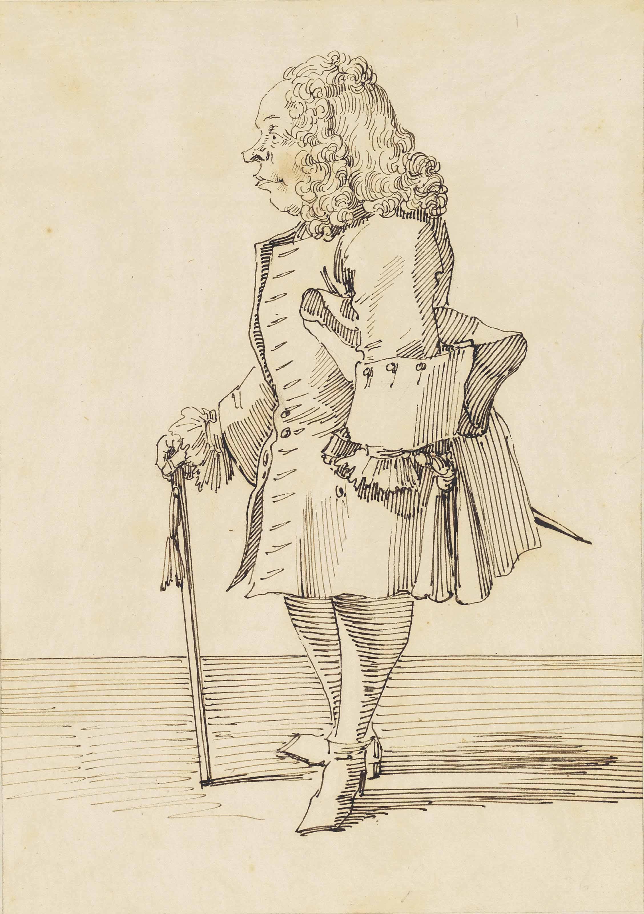 Portrait of M. Gervasi