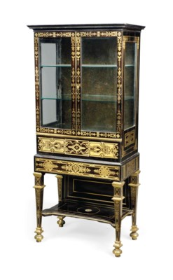 A REGENCY 'ANTIQUARIAN' BOULLE