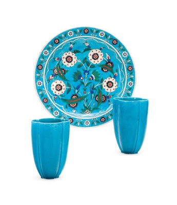 A THEODORE DECK TURQUOISE-GROU