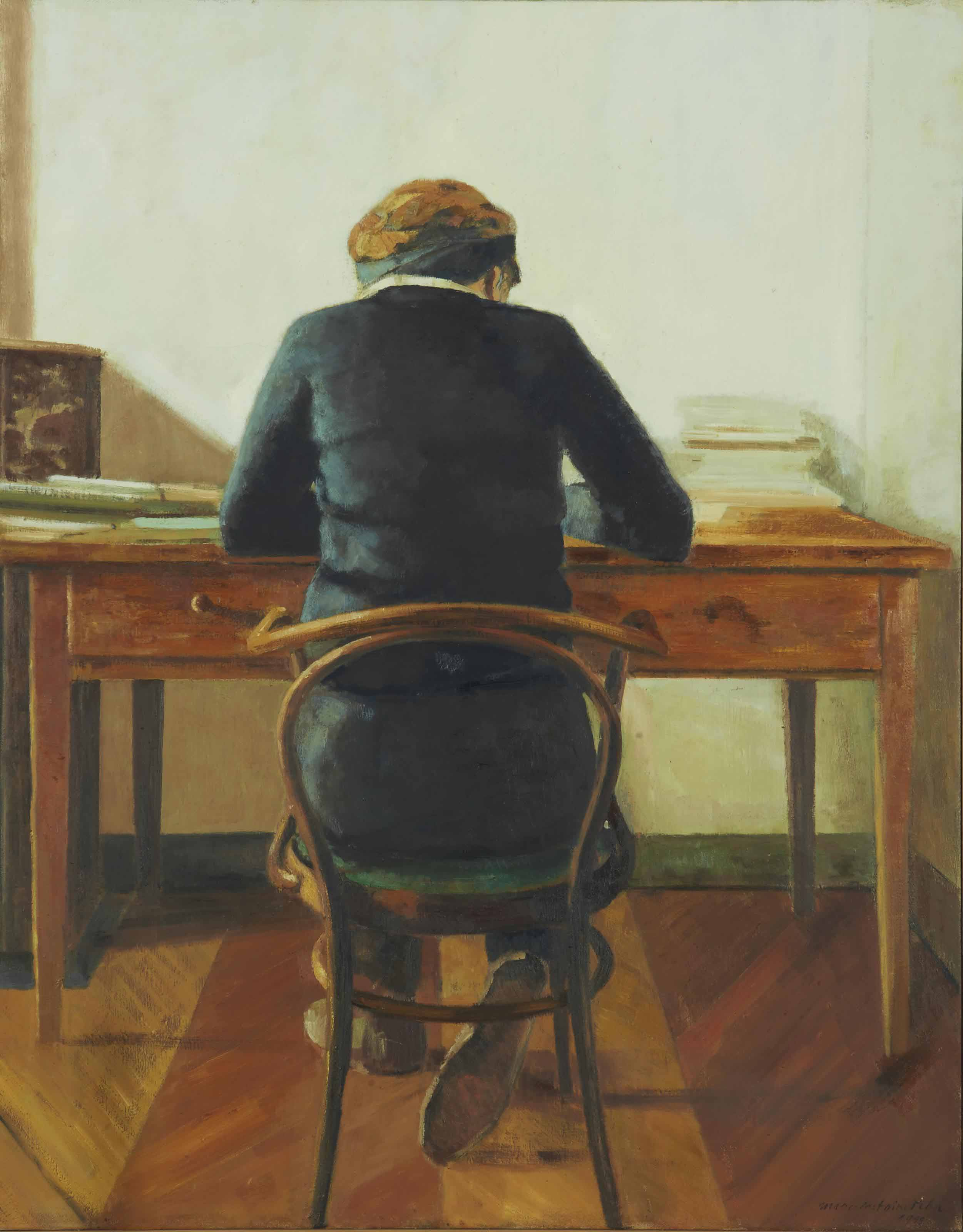 Ruth à sa table, 1999