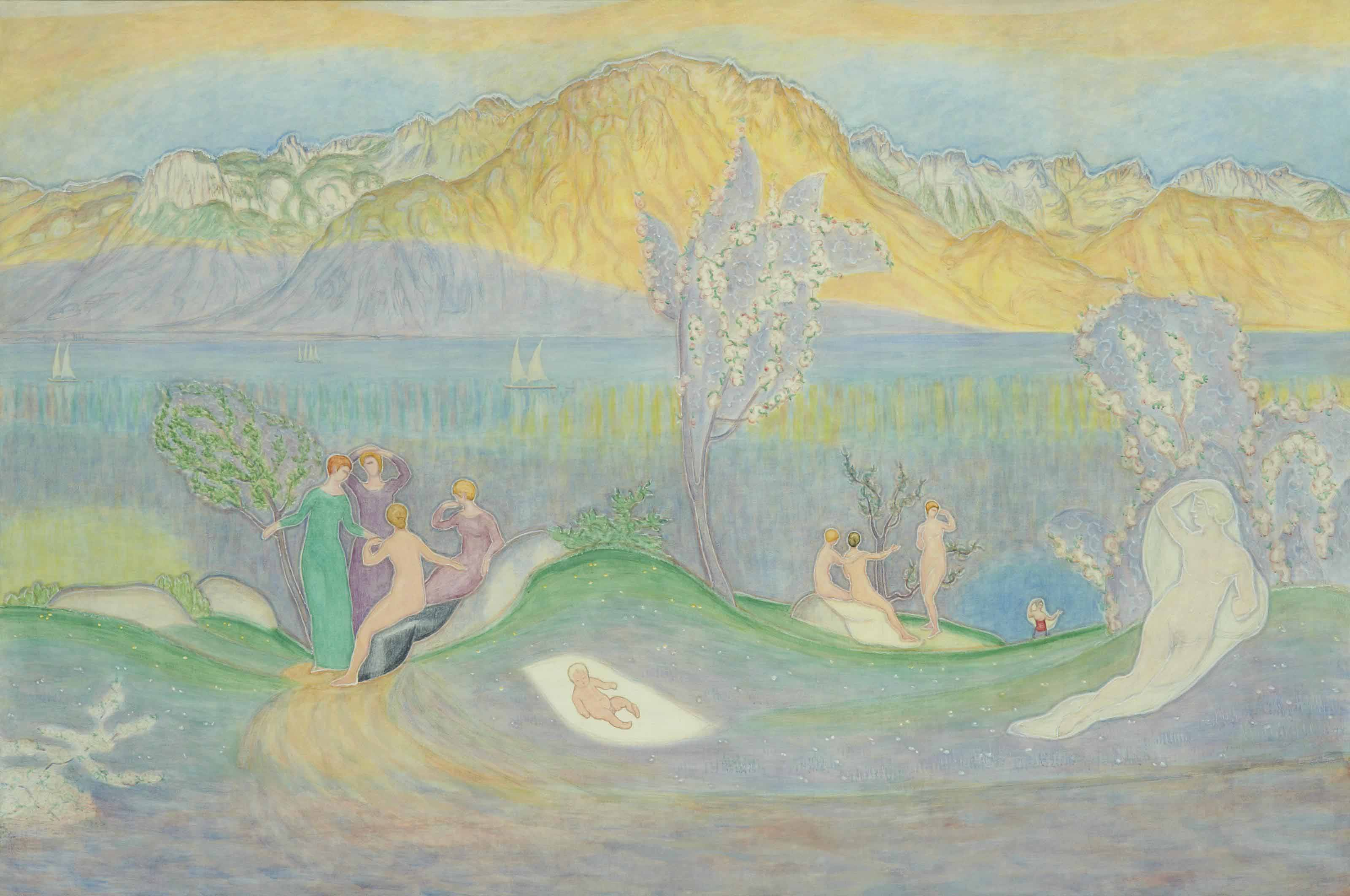 La naissance du poète, 1909