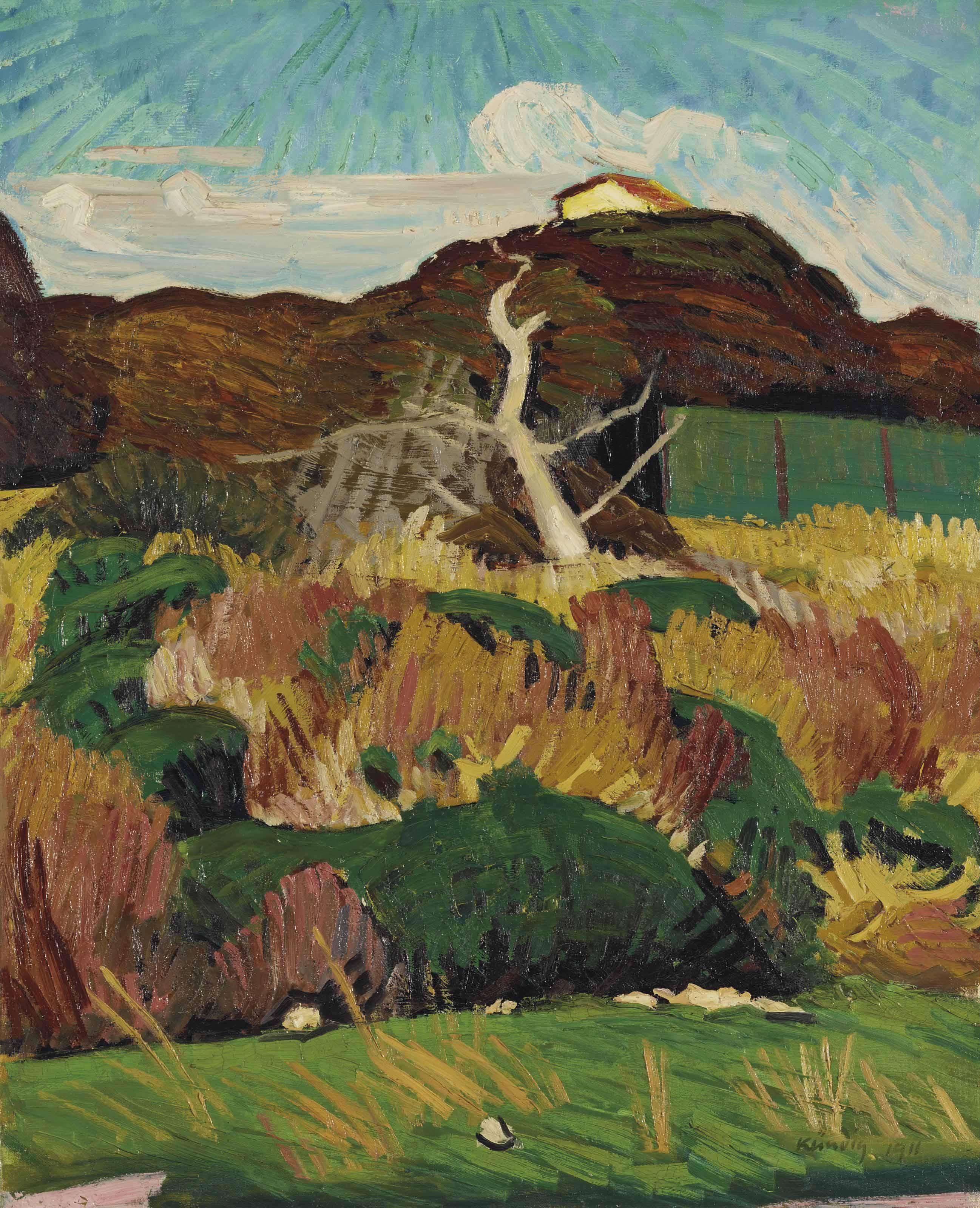 Landschaft in Tunis, 1911
