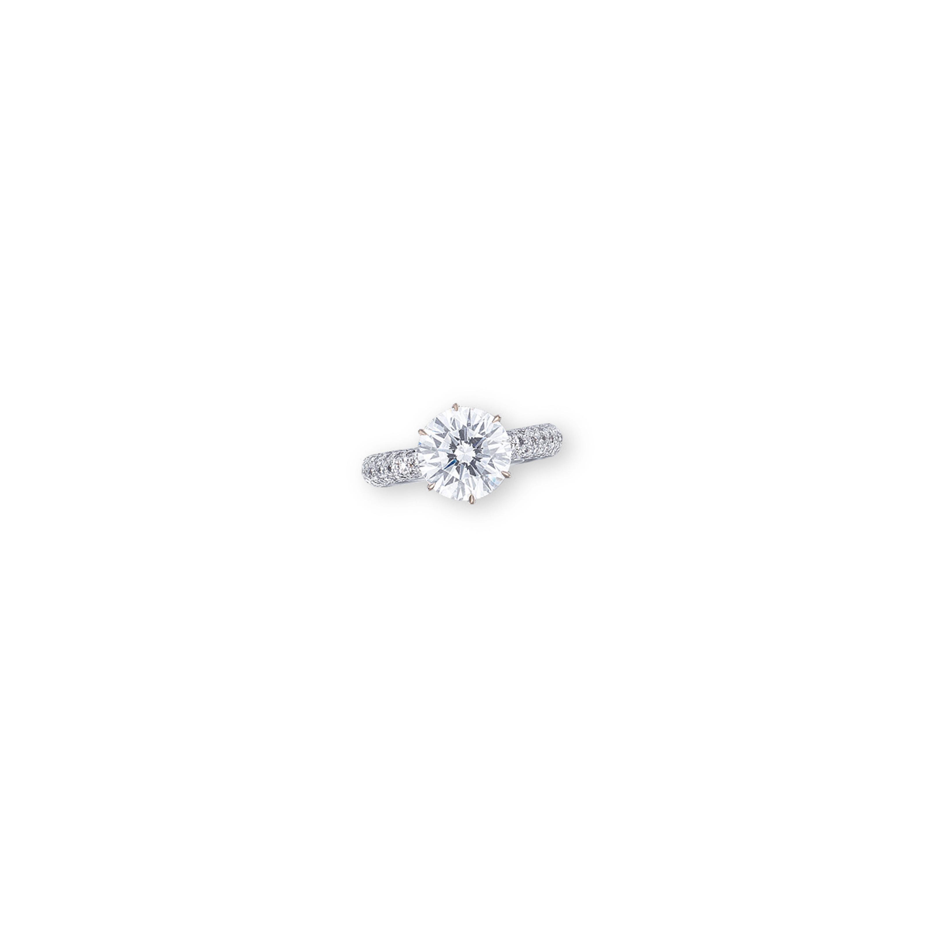 A DIAMOND RING, BY ADLER