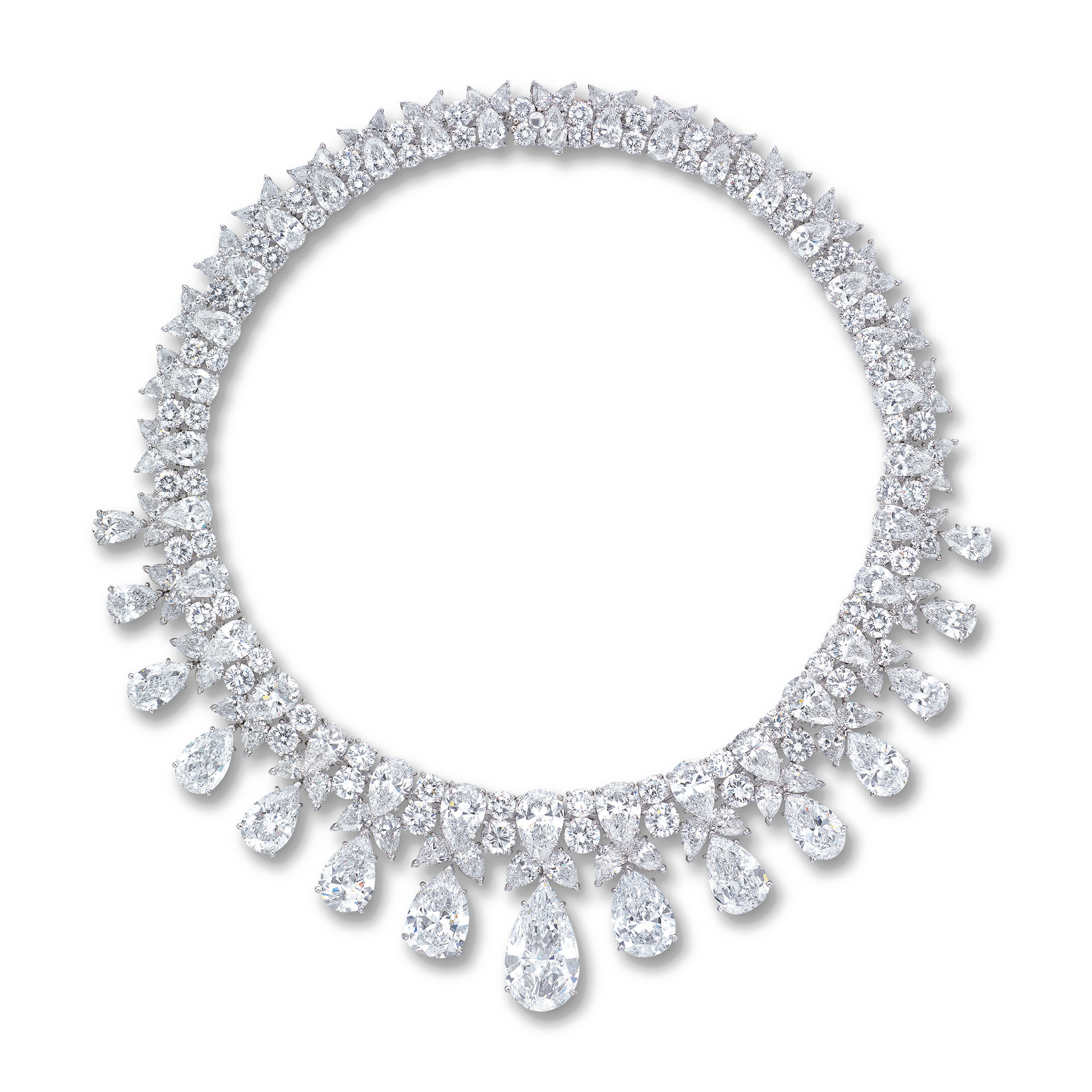A MAGNIFICENT DIAMOND NECKLACE, BY HARRY WINSTON