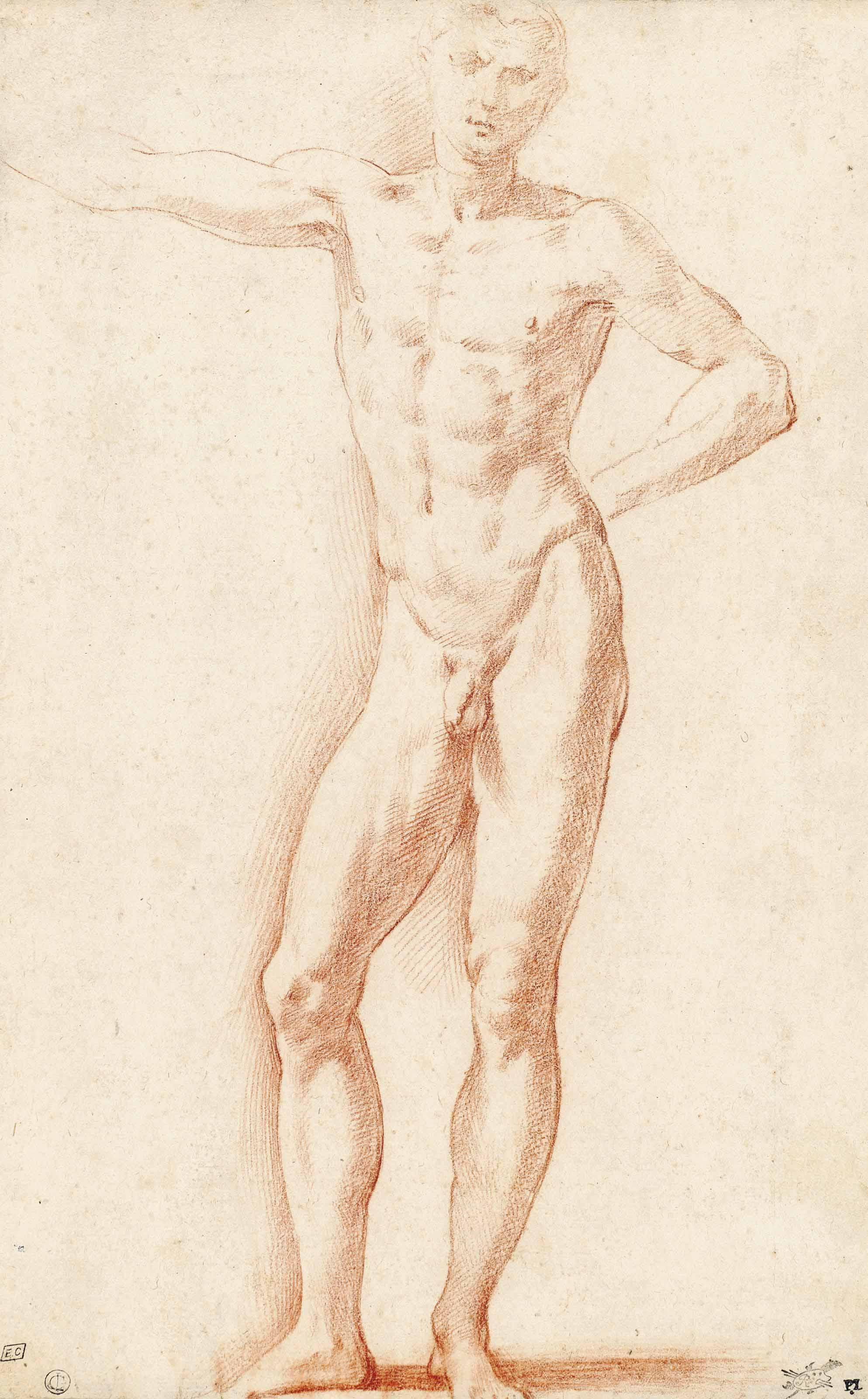 A male nude