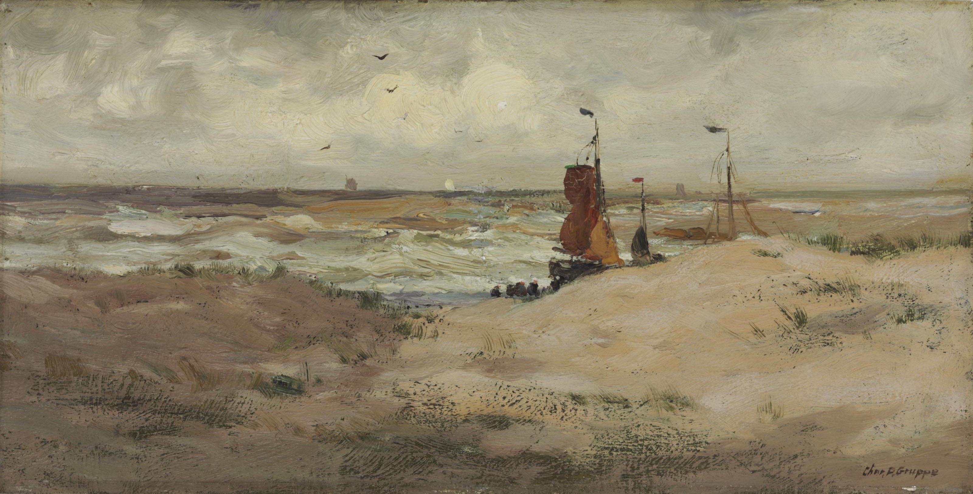 Beach Scene, Holland