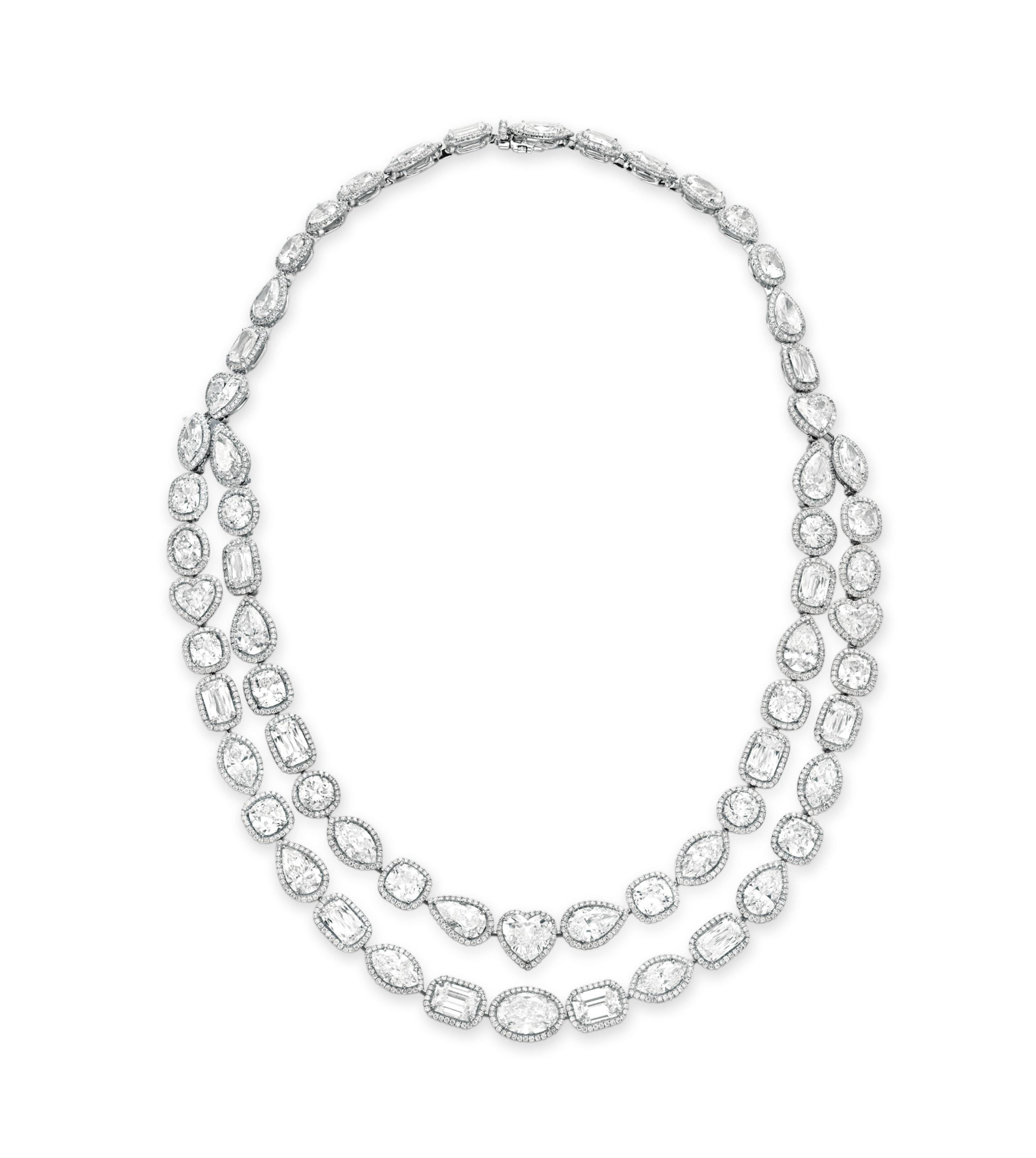 A DIAMOND NECKLACE, BY WILLIAM GOLDBERG