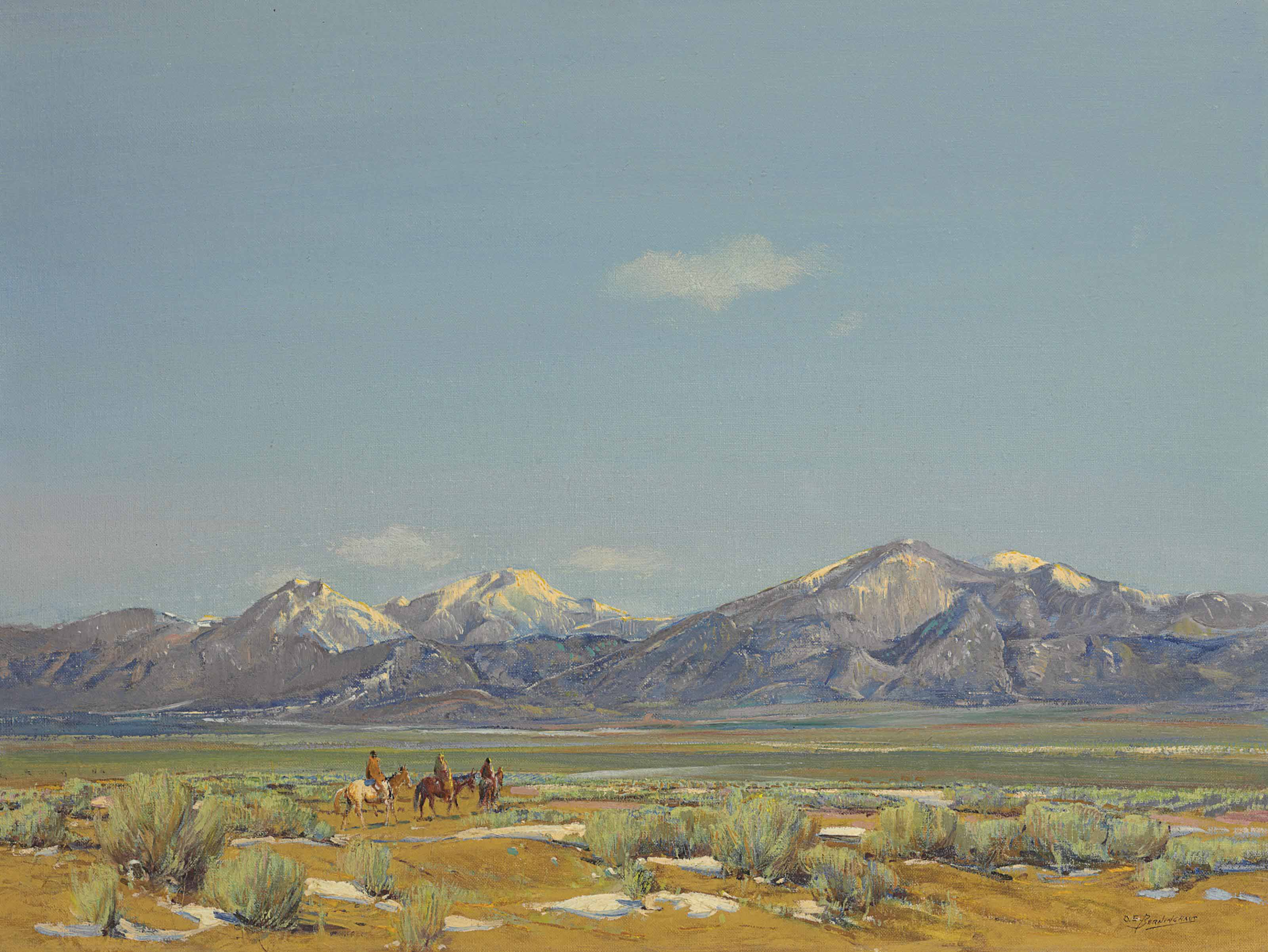 A Field in Taos