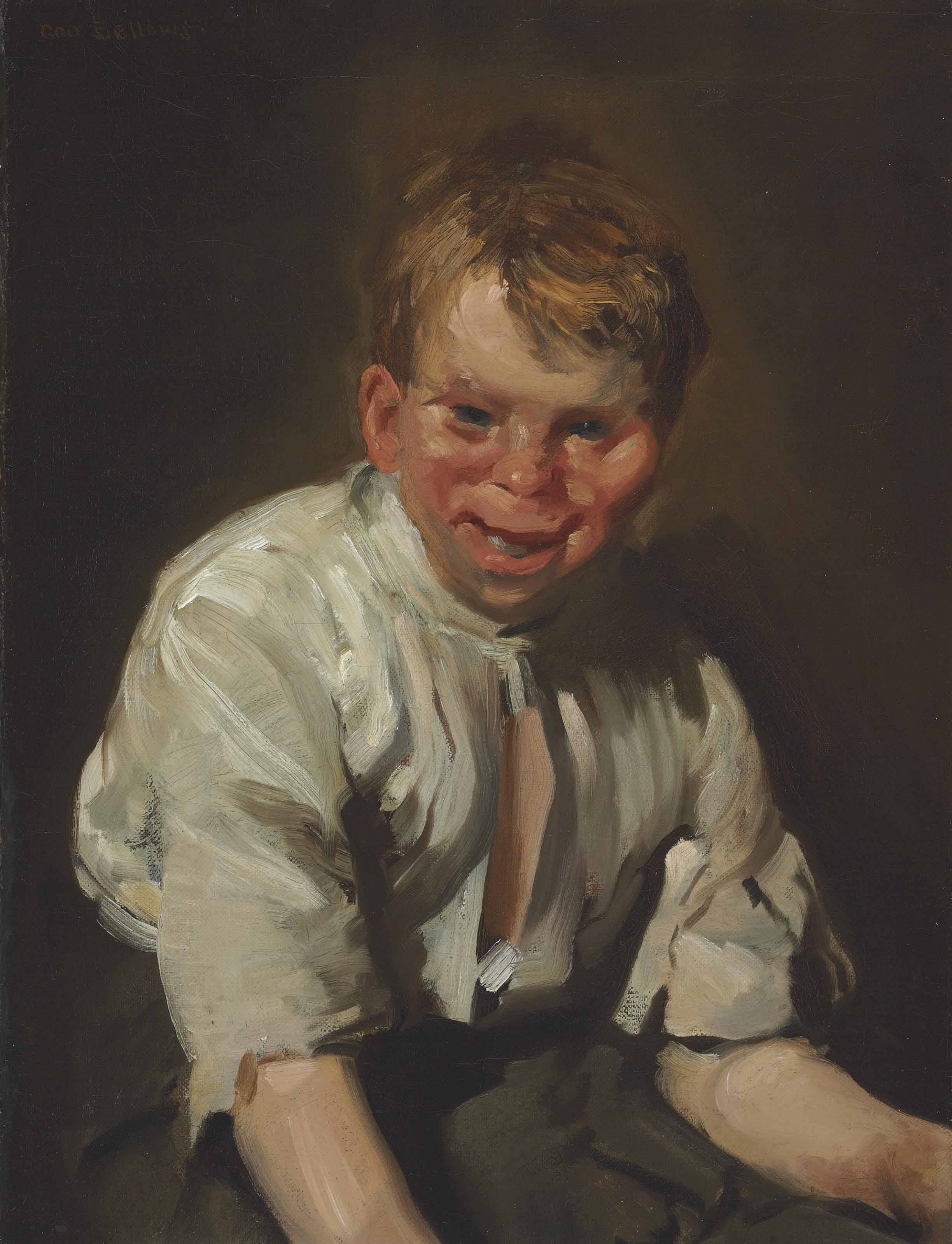 Portrait of a Laughing Boy