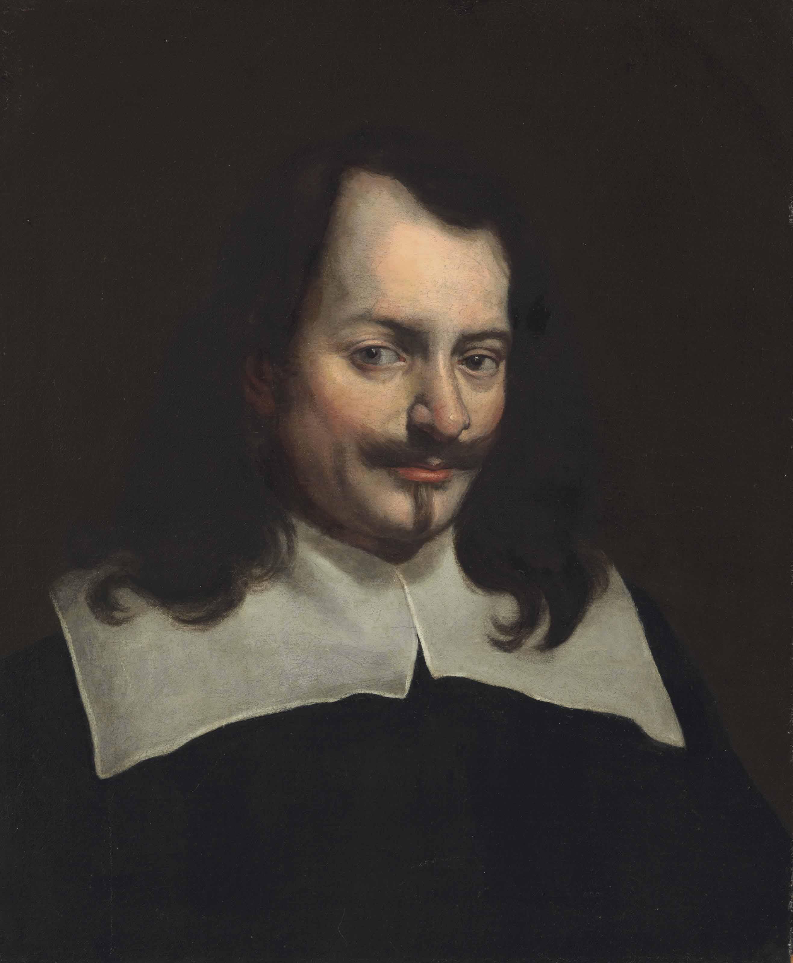 Portrait of a gentleman, bust length