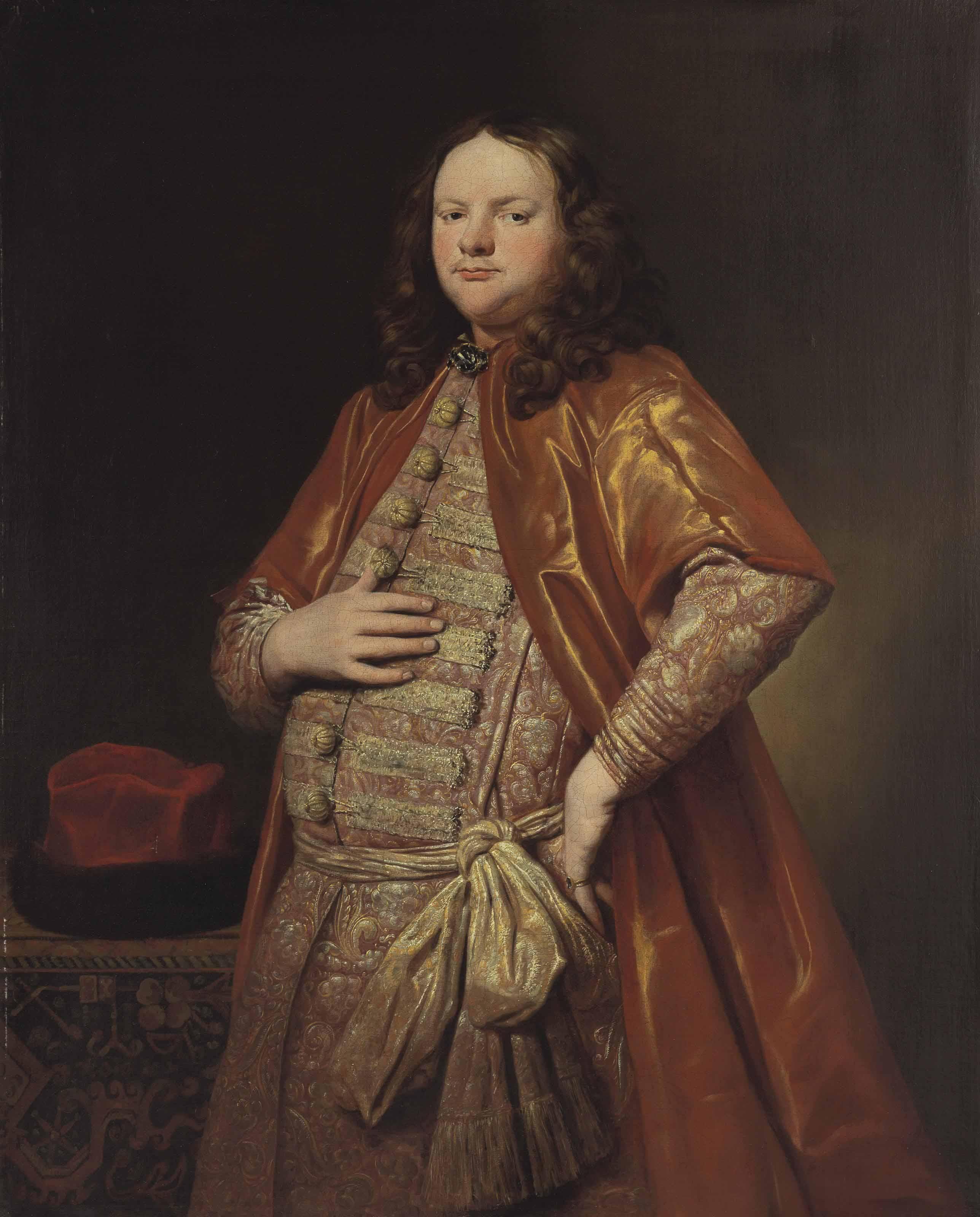 Portrait of a gentleman, three-quarter-length, in a zupan
