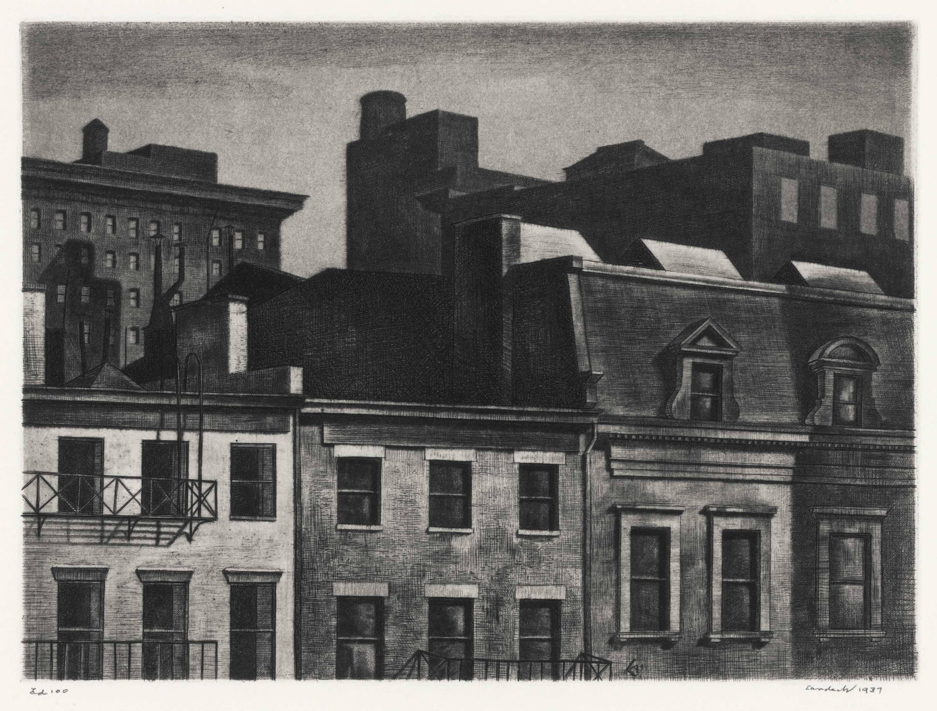 Housetops, 14th Street