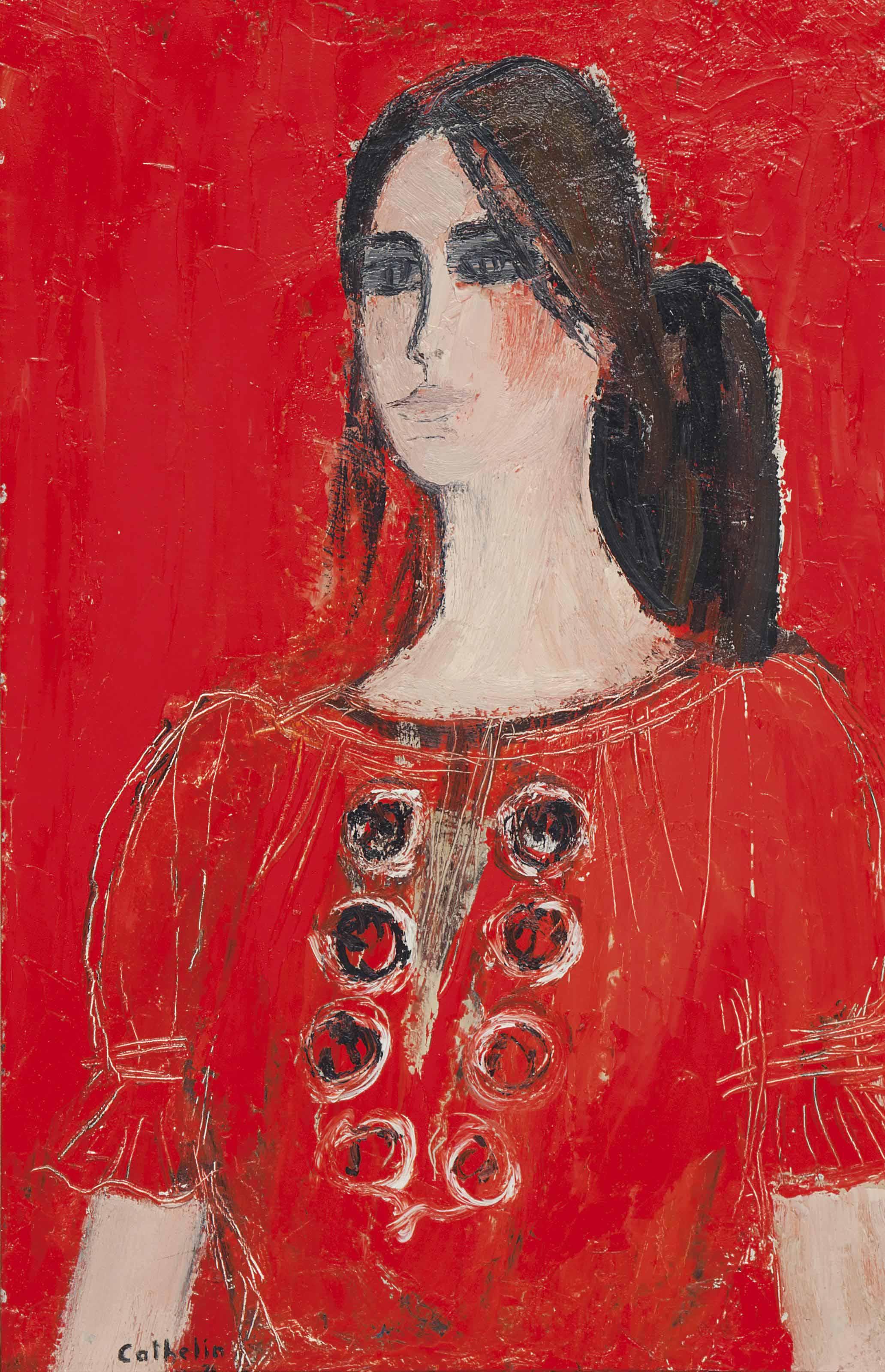 Dominique à blouse hongroise