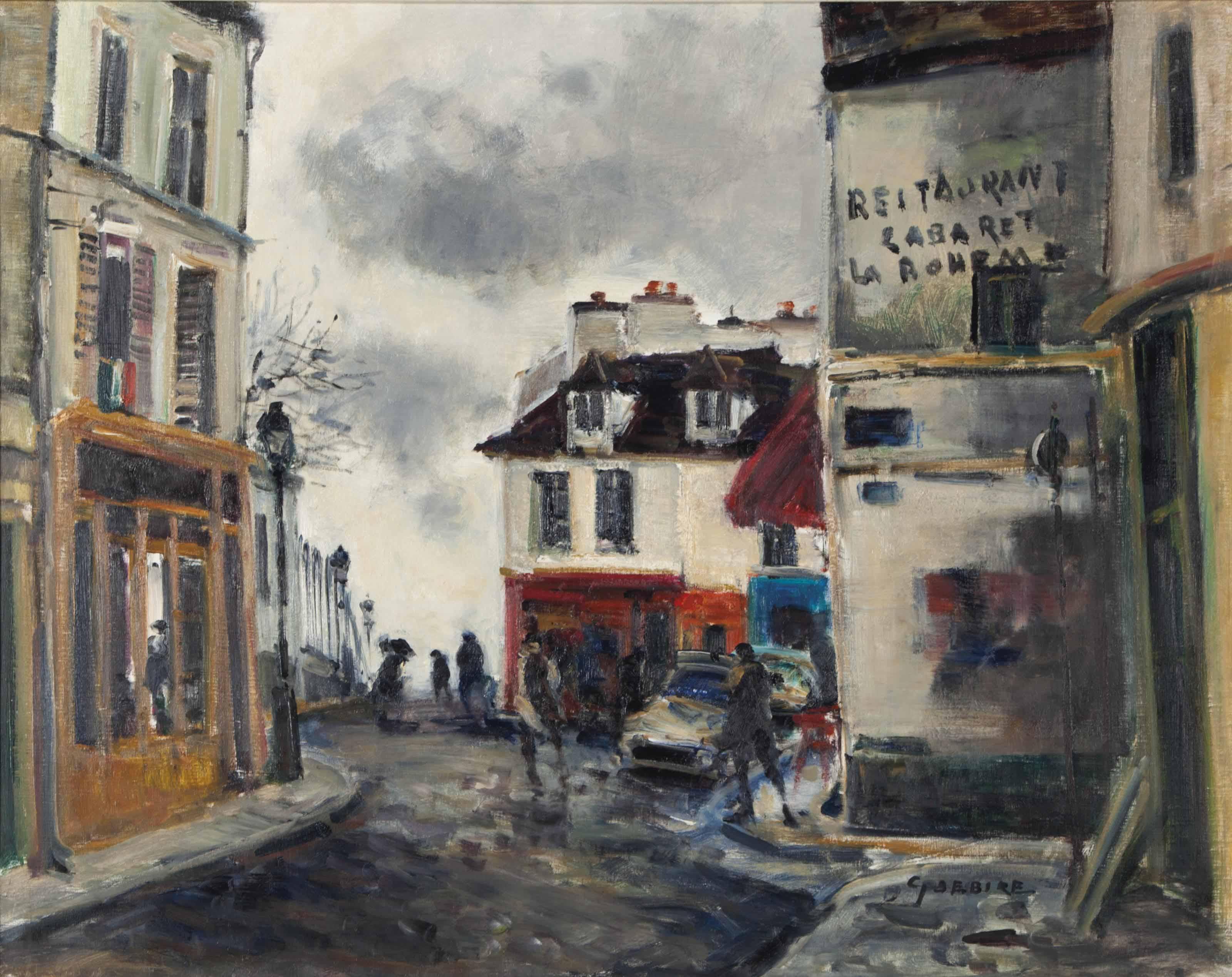 Pluie, Rue de Mont