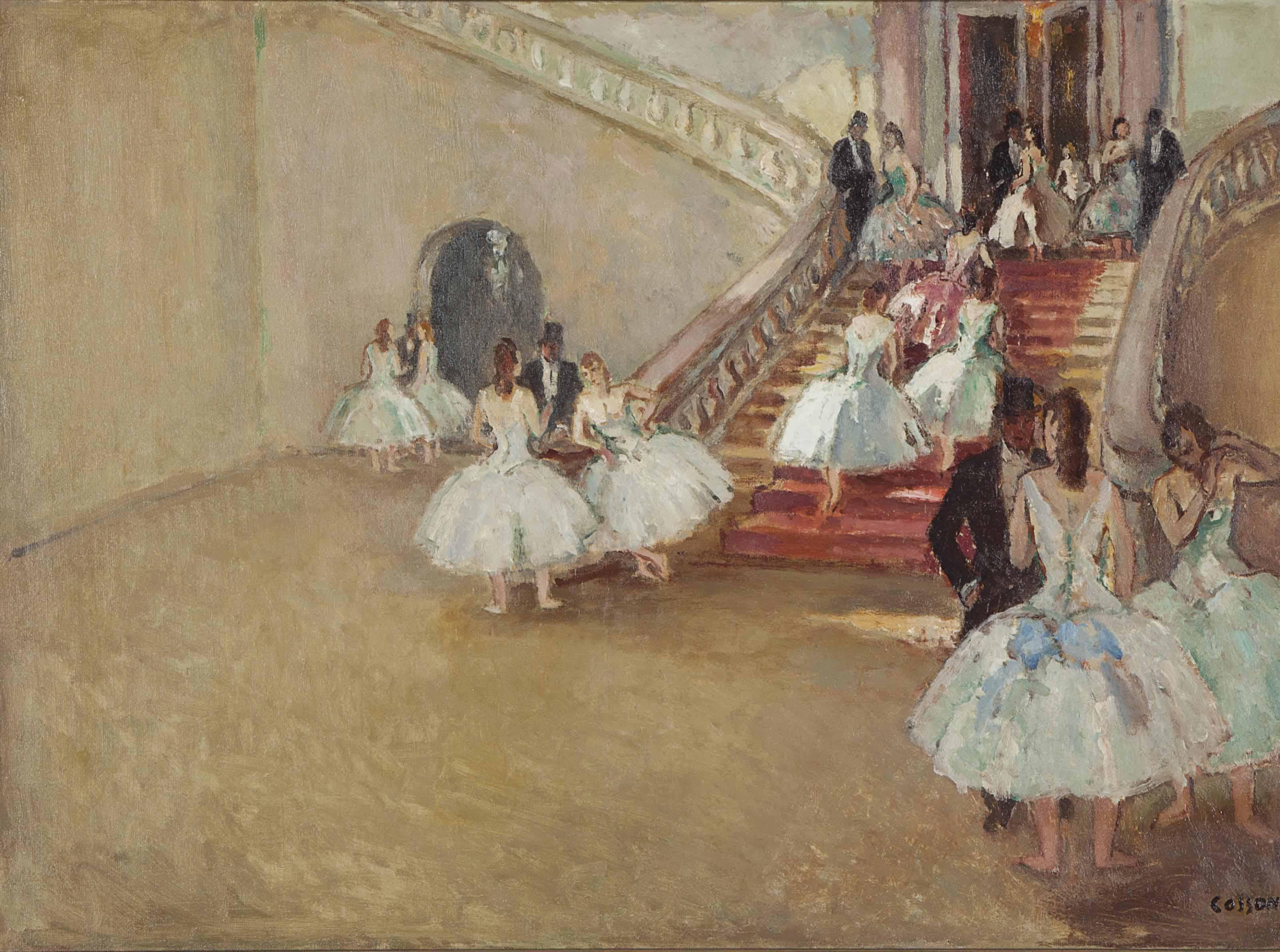 L'escalier du ballet