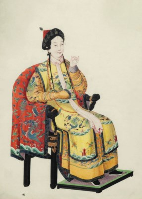 A PAINTING OF A COURT LADY TAK