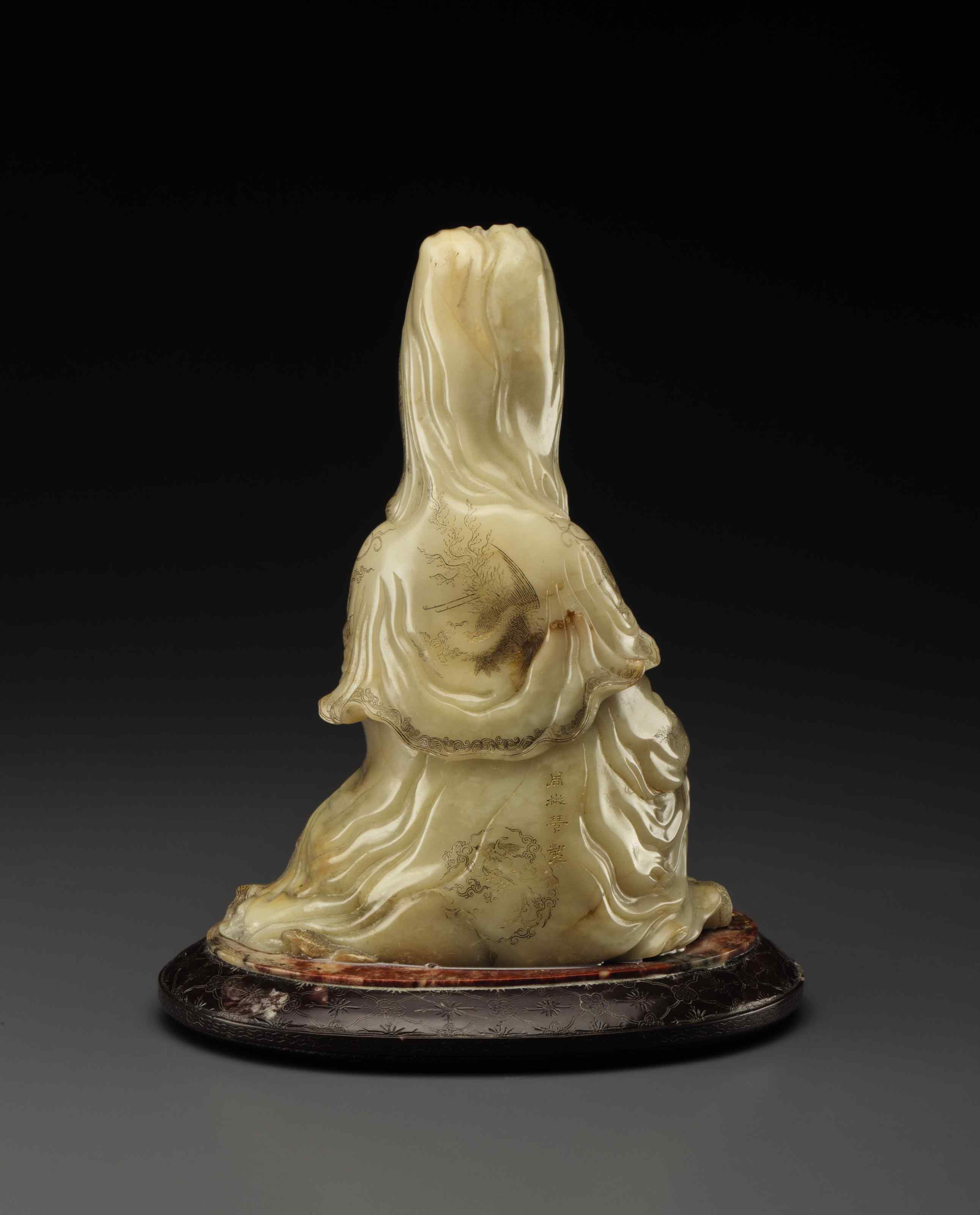 A FINELY CARVED SHOUSHAN SOAPS