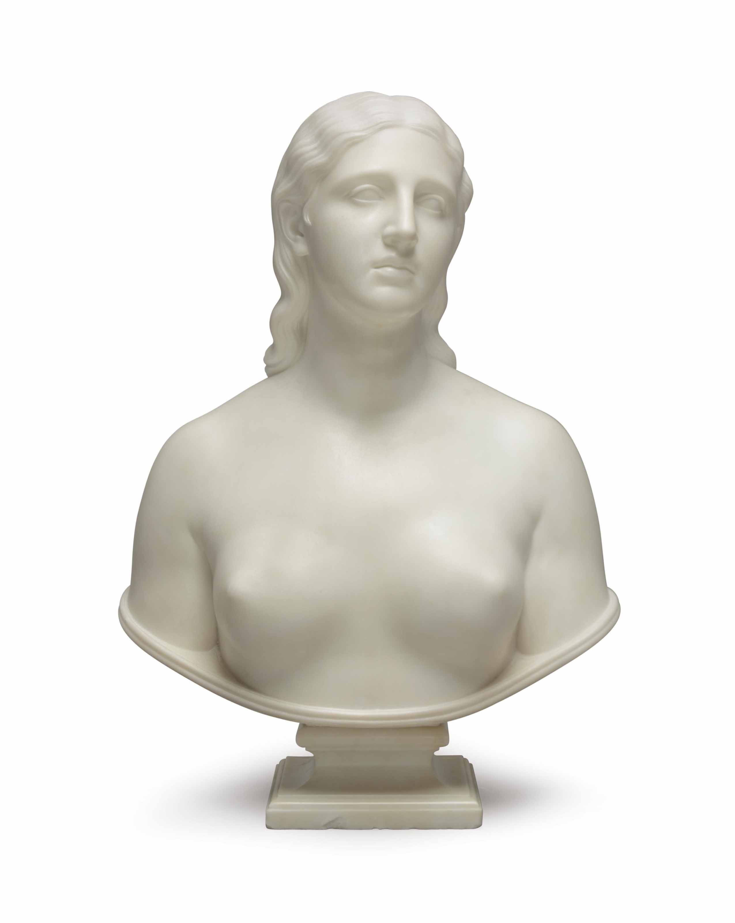 Bust of Eve Disconsolate
