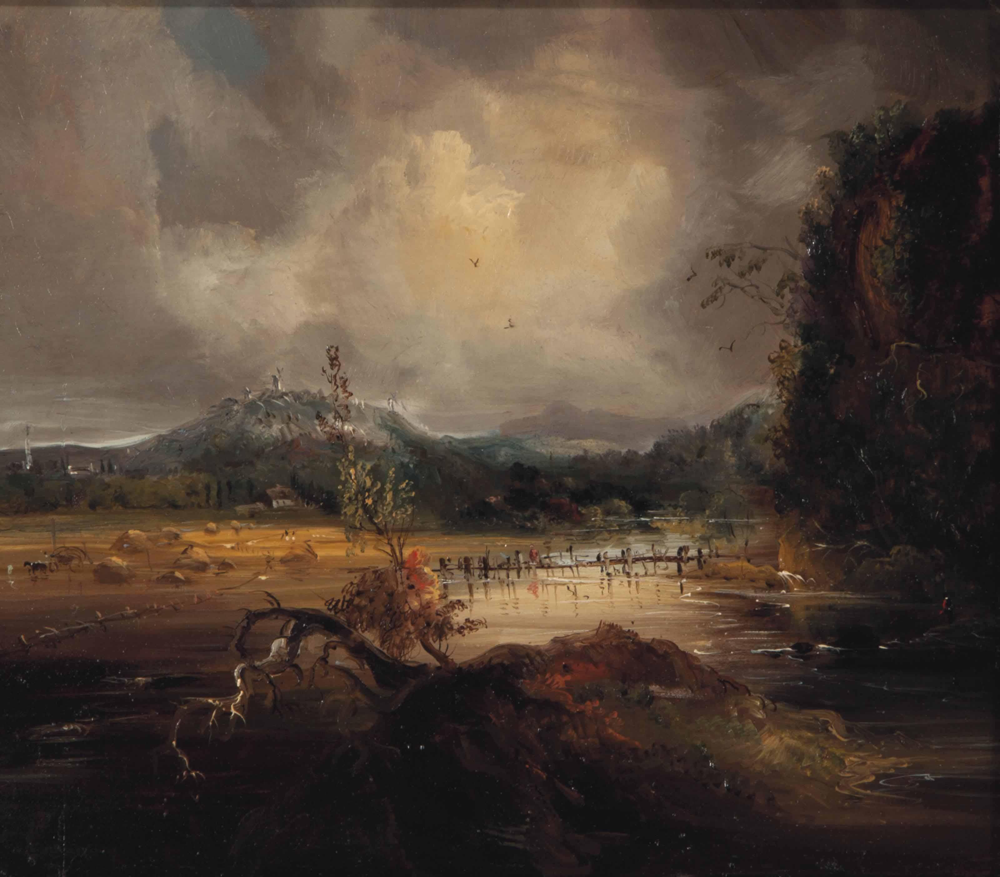 Landscape (Harvest Scene)