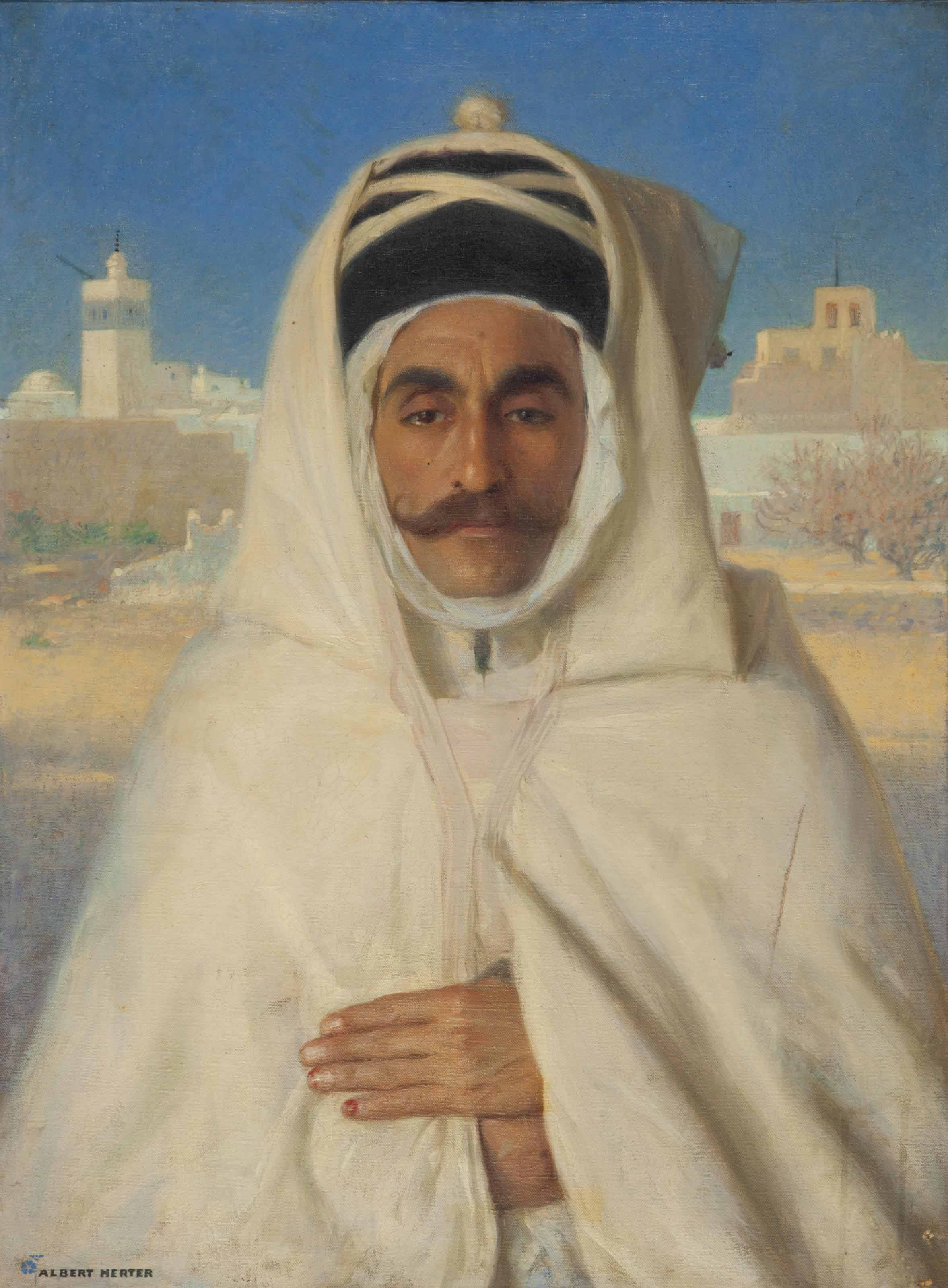 Ahmed Gharza, Dragoman of Marrakech